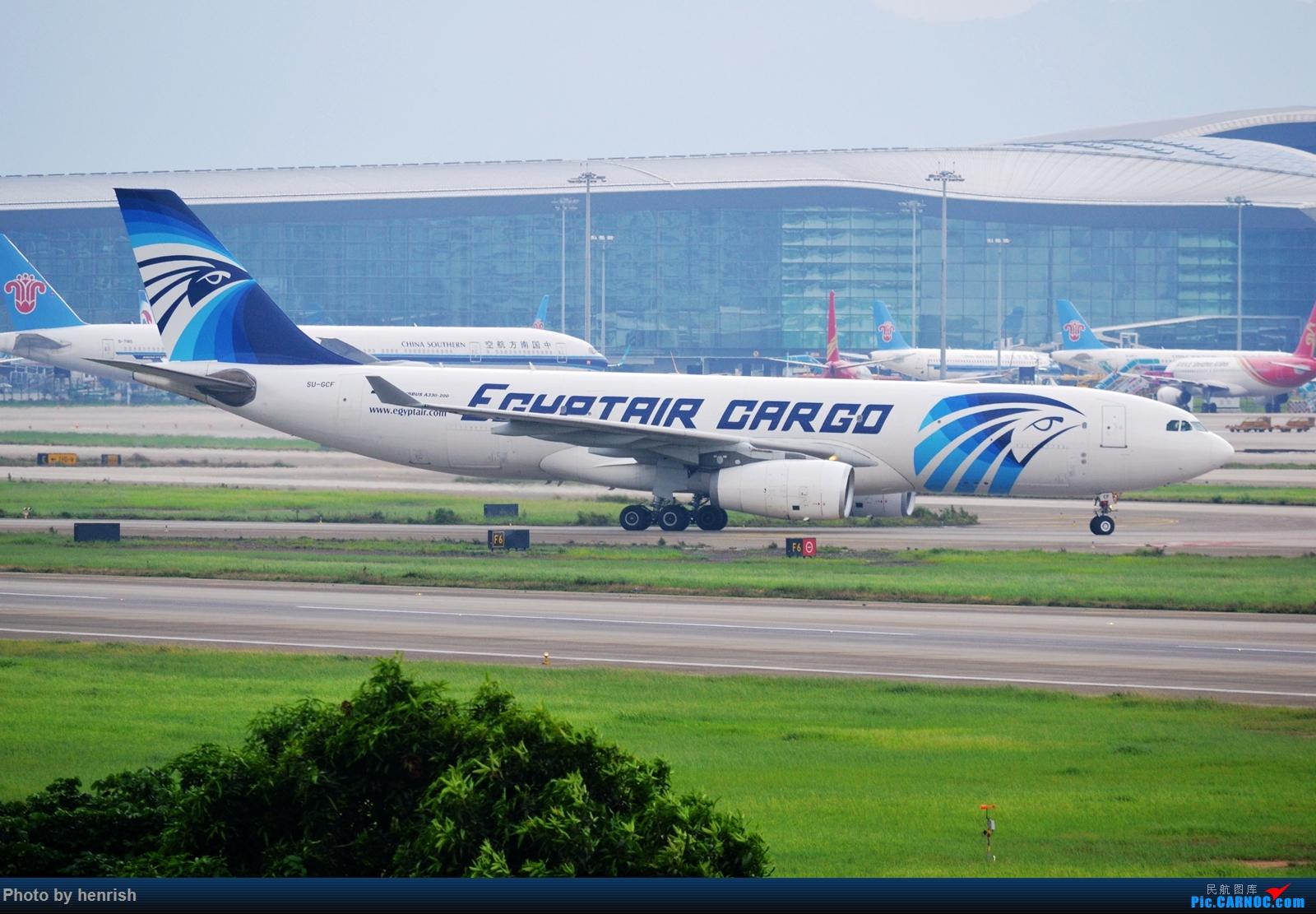 Re:[原创]【肥威的CAN】5月后半,雨季期间广州好货若干。【 广东青少年拍机小队】【广州,你好!】 AIRBUS A330-200PCF SU-GCF 中国广州白云国际机场