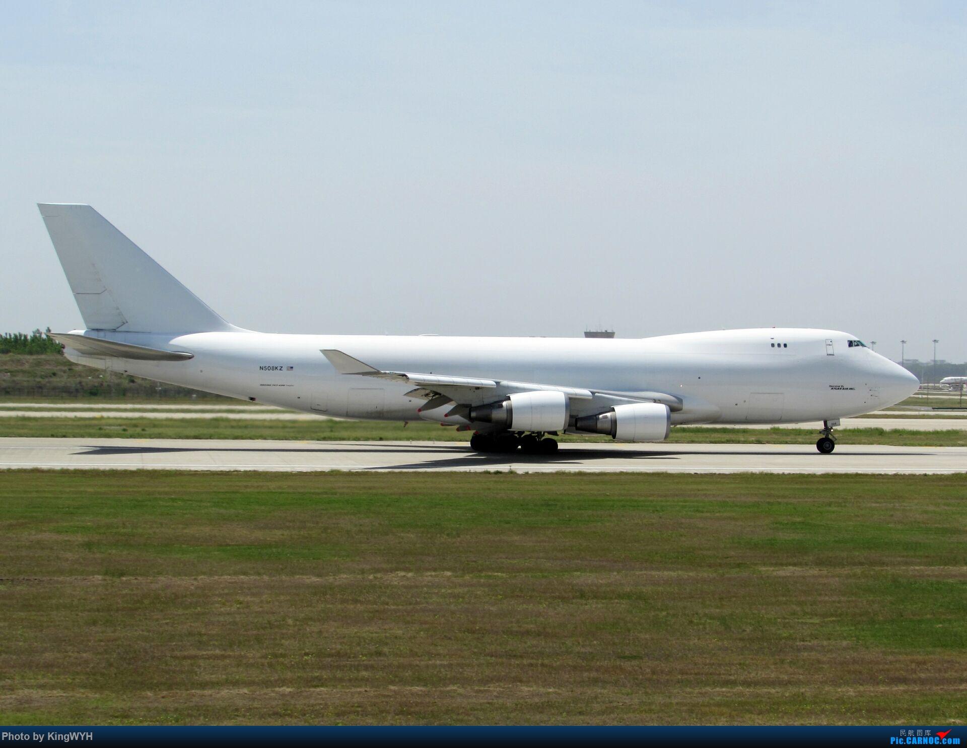 [原创]丝路748头部特写 BOEING 747-400F N508KZ 中国郑州新郑国际机场