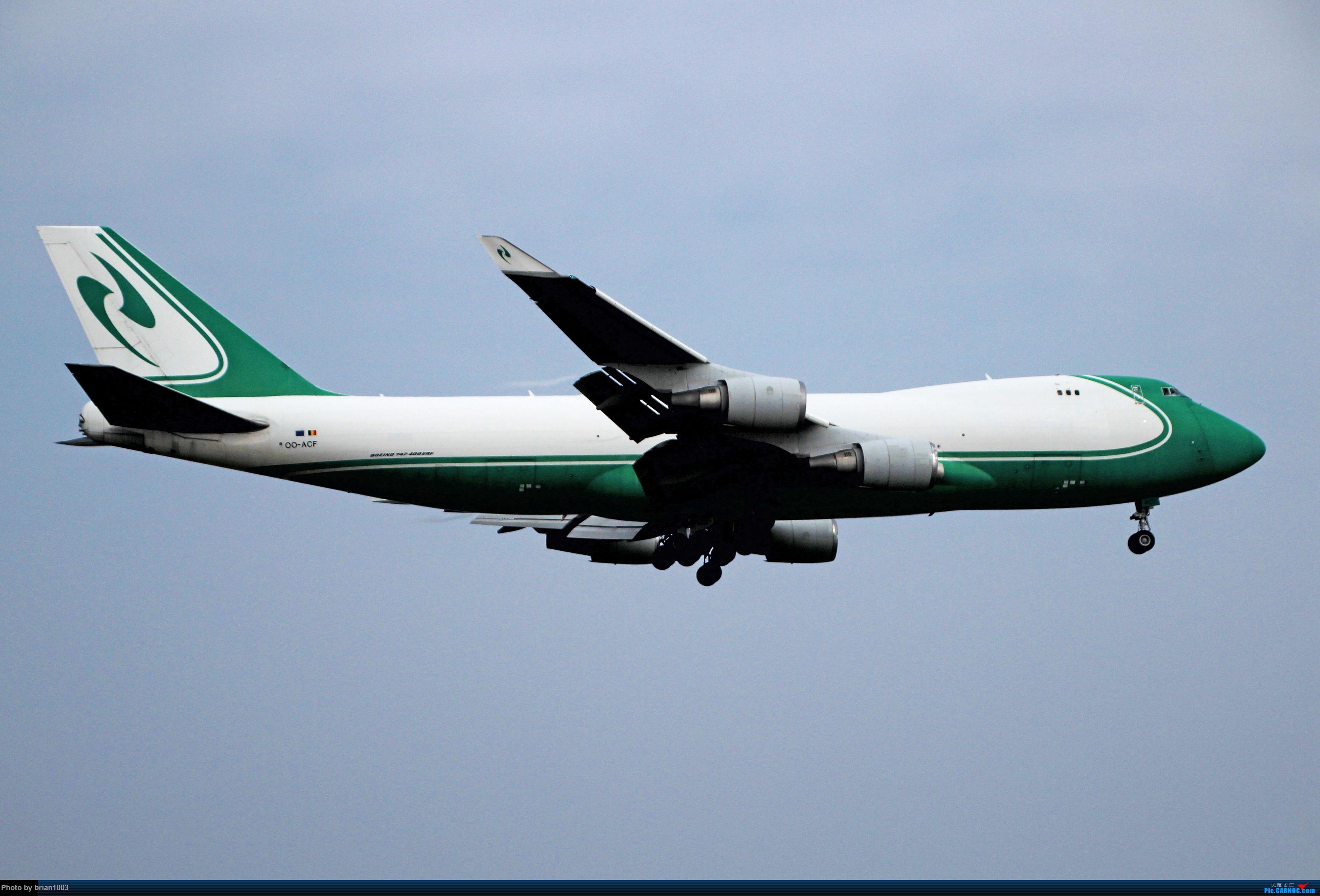 """Re:[原创]WUH天河机场拍机之""""天河归队""""六月篇(X7家744F) BOEING 747-400ERF OO-ACF 中国武汉天河国际机场"""