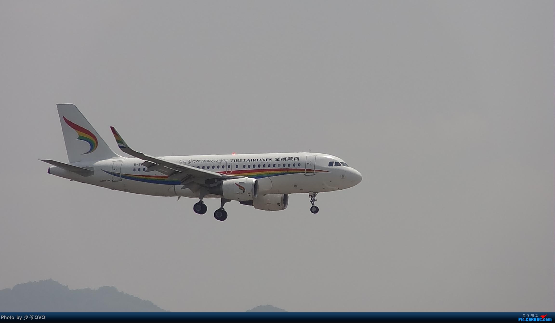 Re:[原创]Re:[原创]人生最后一个儿童节的CKG拍机,久违的胜安738 AIRBUS A319  重庆江北机场