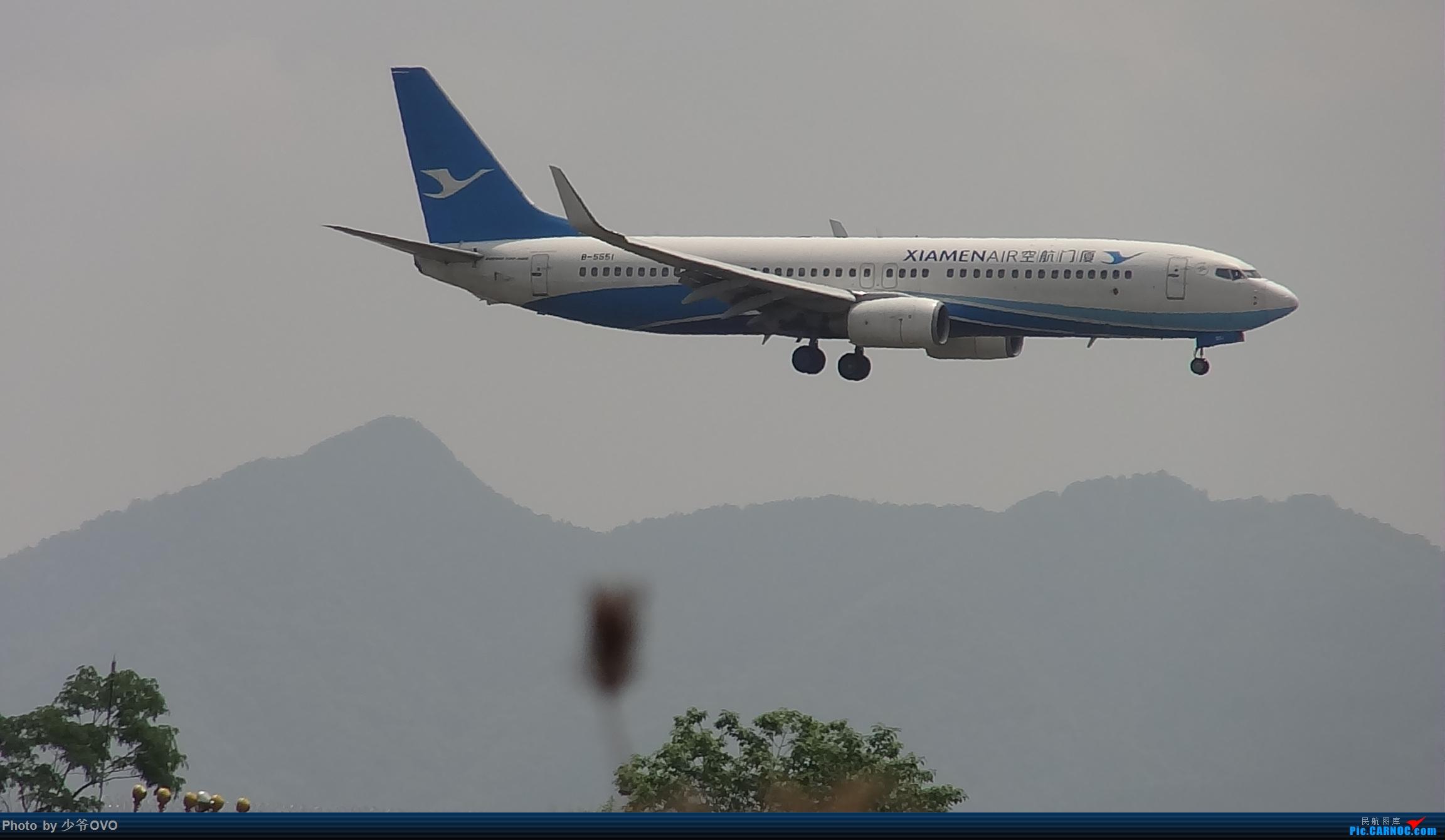 Re:Re:[原创]人生最后一个儿童节的CKG拍机,久违的胜安738 BOEING 737-800 B-5551 中国重庆江北国际机场