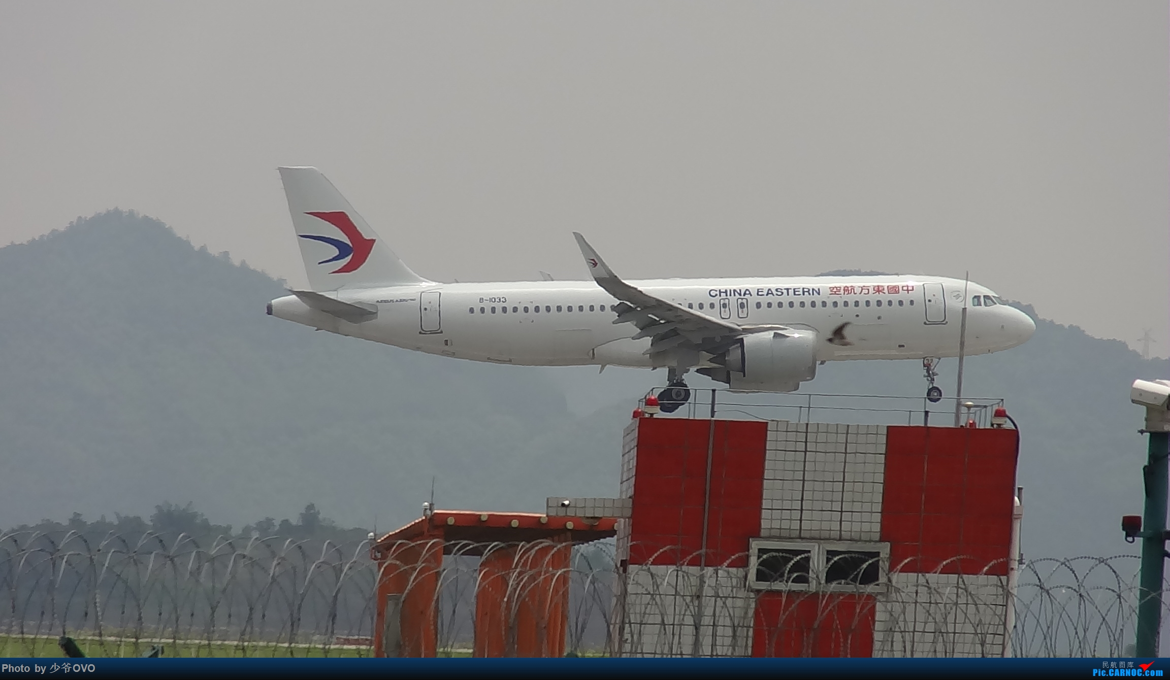 Re:[原创]Re:[原创]人生最后一个儿童节的CKG拍机,久违的胜安738 AIRBUS A320NEO B-1033 中国重庆江北国际机场