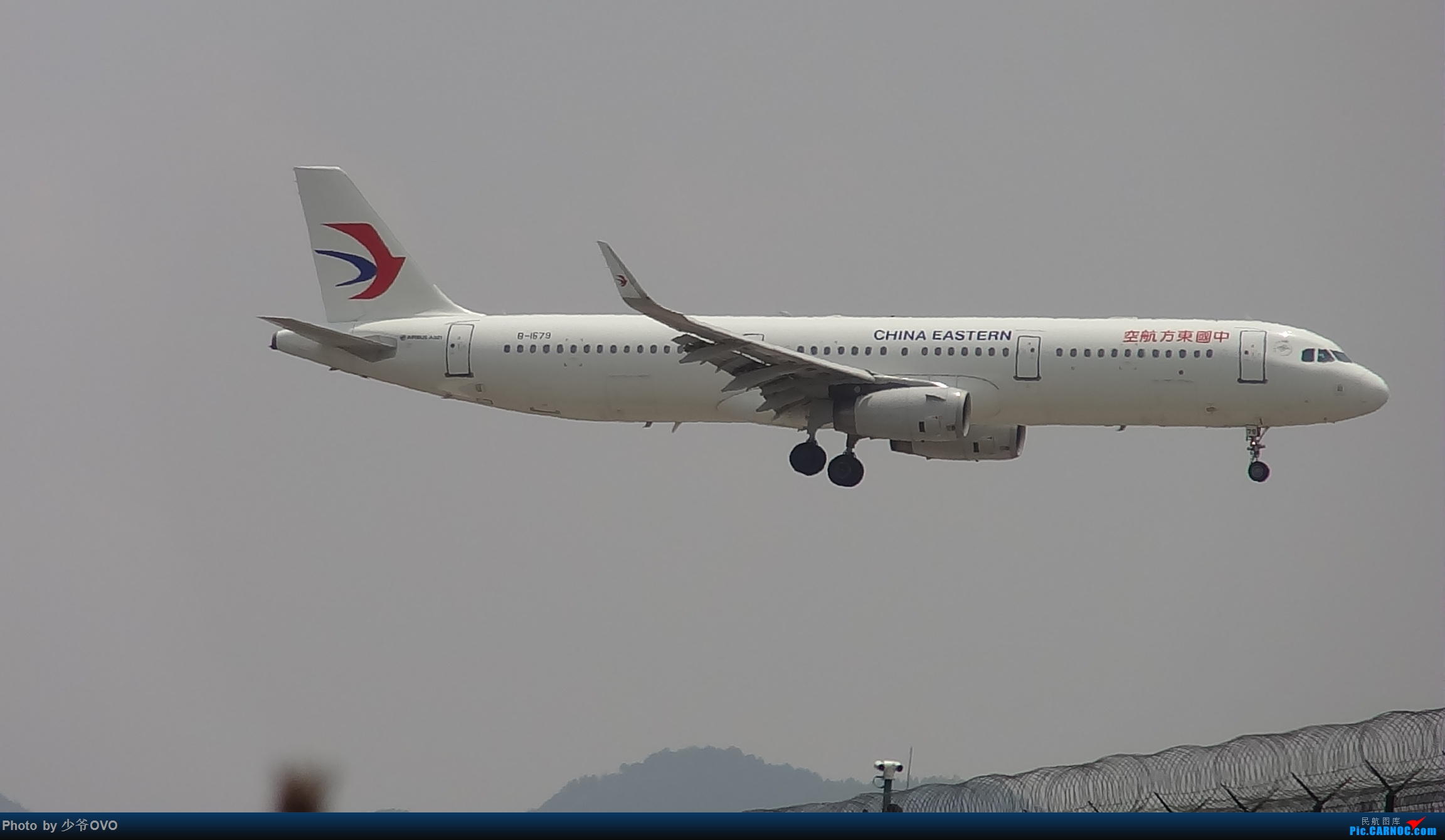 Re:[原创]Re:[原创]人生最后一个儿童节的CKG拍机,久违的胜安738 AIRBUS A321-200 B-1679 中国重庆江北国际机场