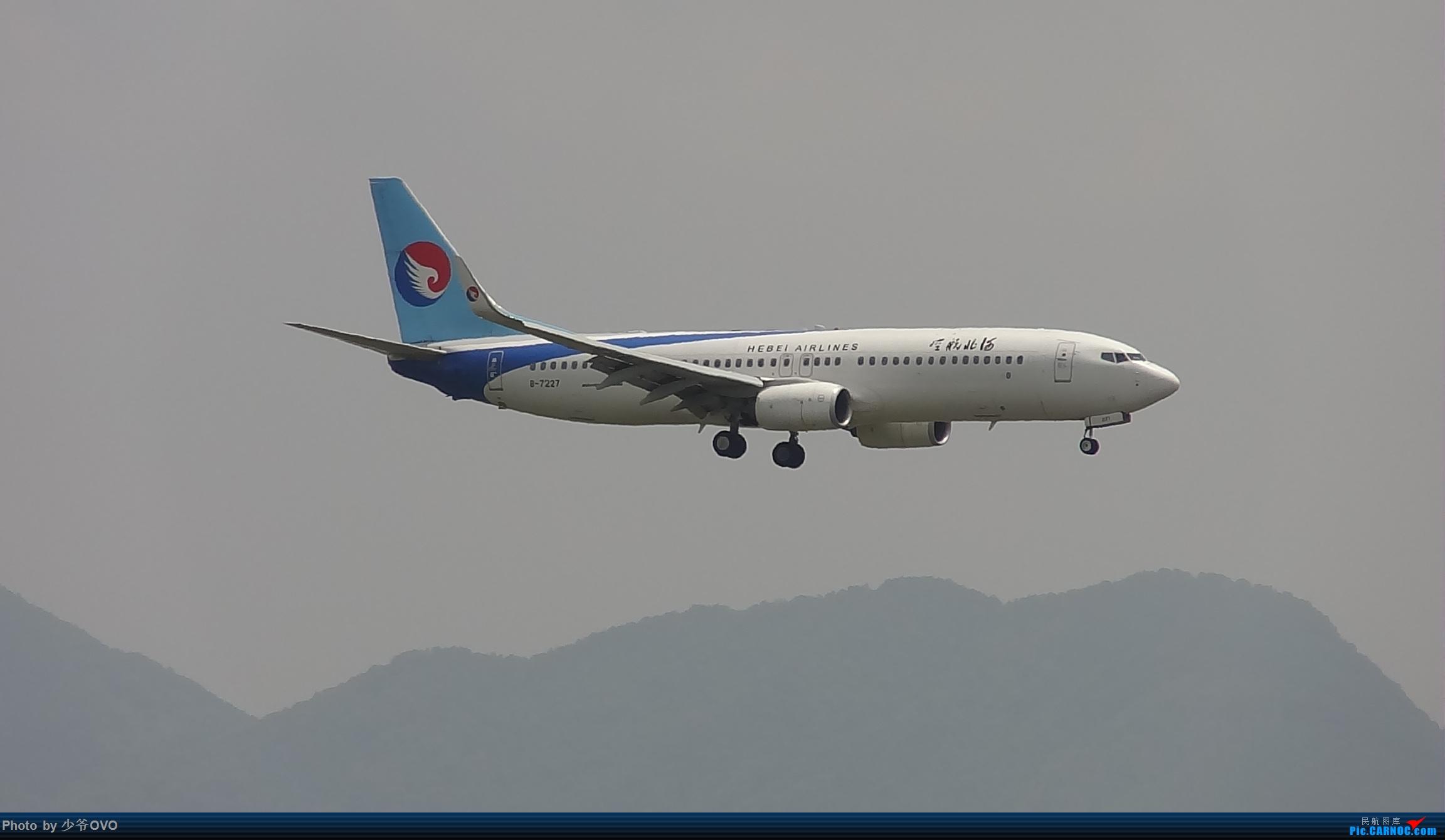 Re:[原创]Re:[原创]人生最后一个儿童节的CKG拍机,久违的胜安738 BOEING 737-800 B-7227 中国重庆江北国际机场