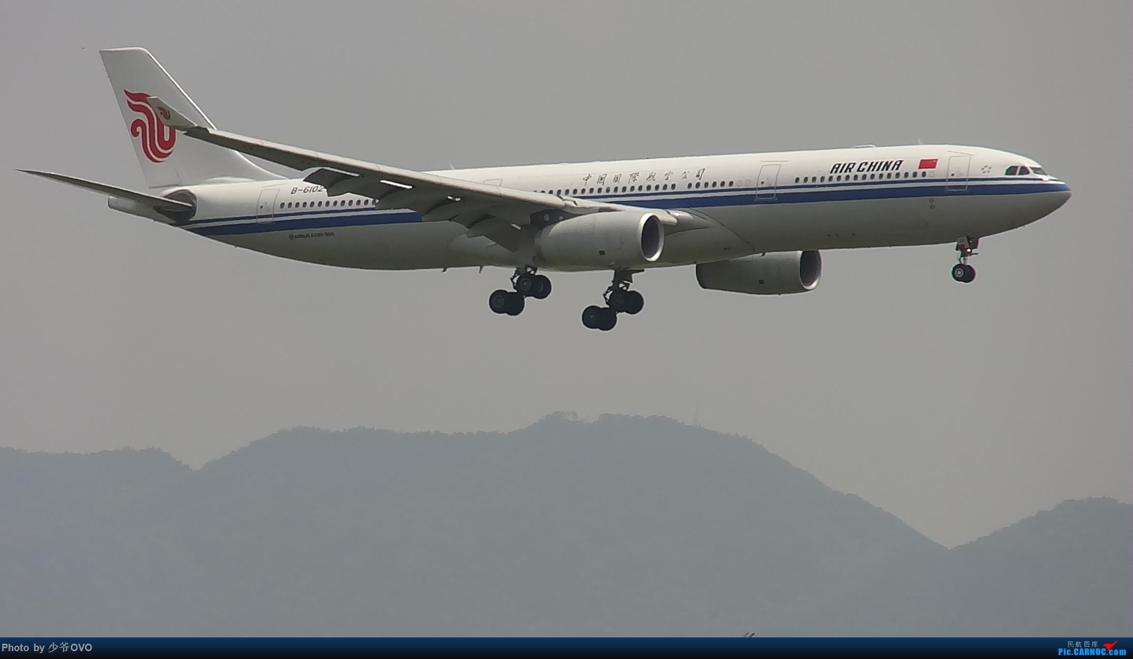 Re:[原创]Re:[原创]人生最后一个儿童节的CKG拍机,久违的胜安738 AIRBUS A330-300 B-6102 中国重庆江北国际机场