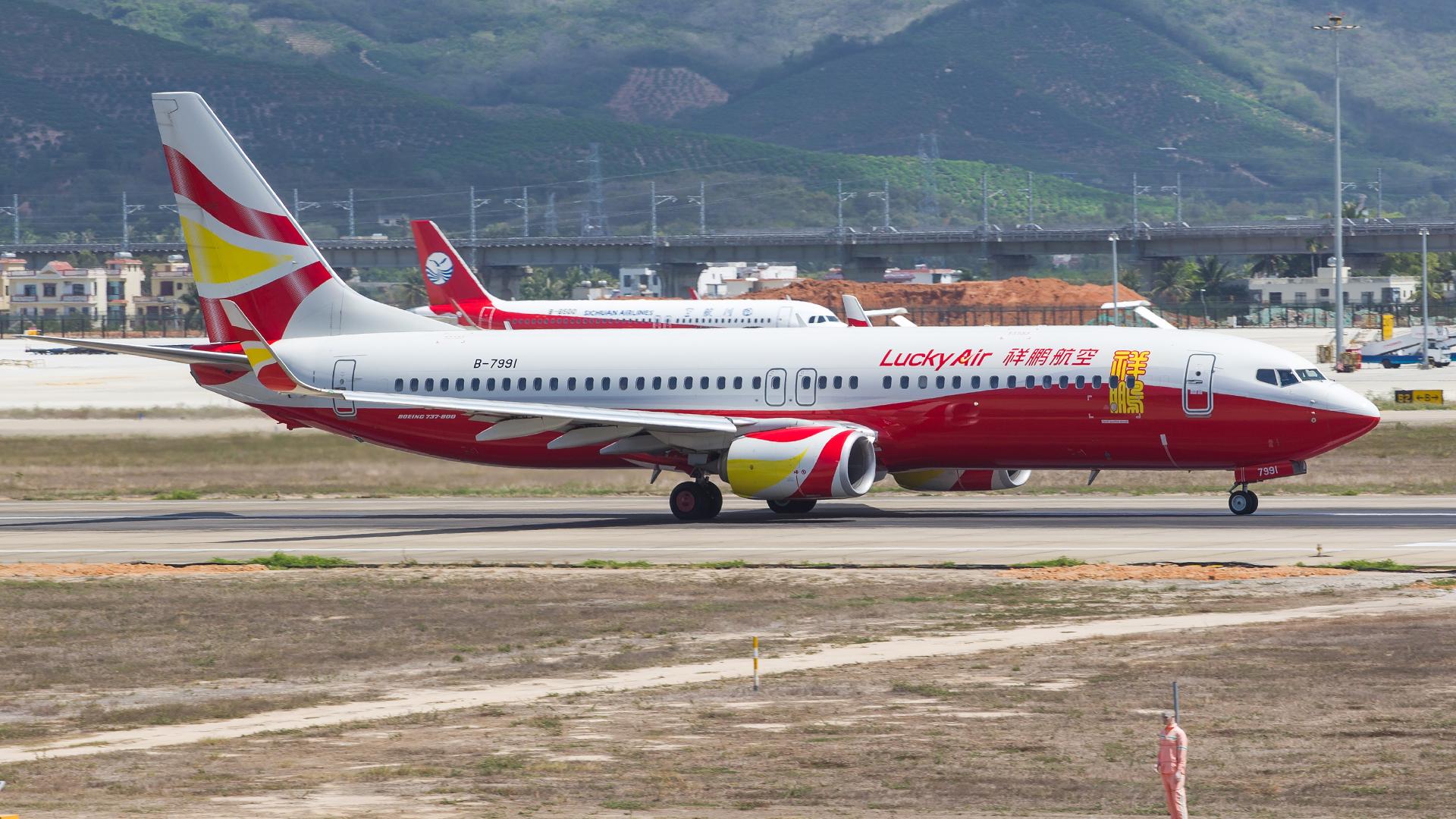 Re:[原创]。。。[SYX]北纬18°的三亚日记。。。(二) BOEING 737-800 B-7991 中国三亚凤凰国际机场