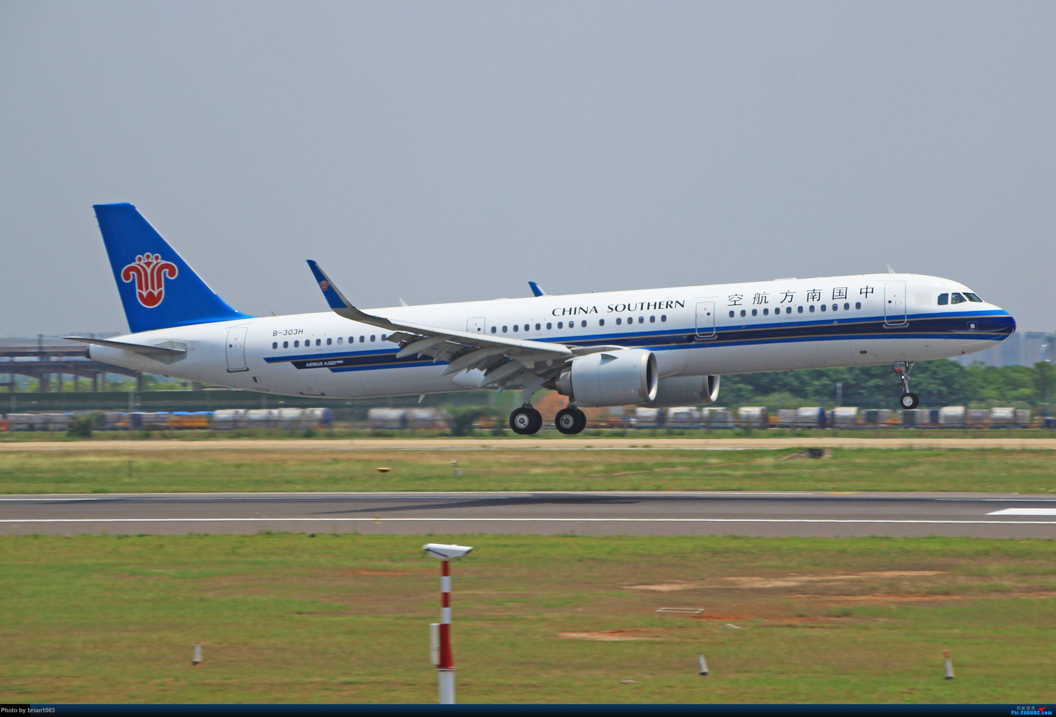 Re:[原创]WUH天河机场拍机之六月还有啥(X7家744F、天津航空333) AIRBUS A321NEO B-303H 中国武汉天河国际机场