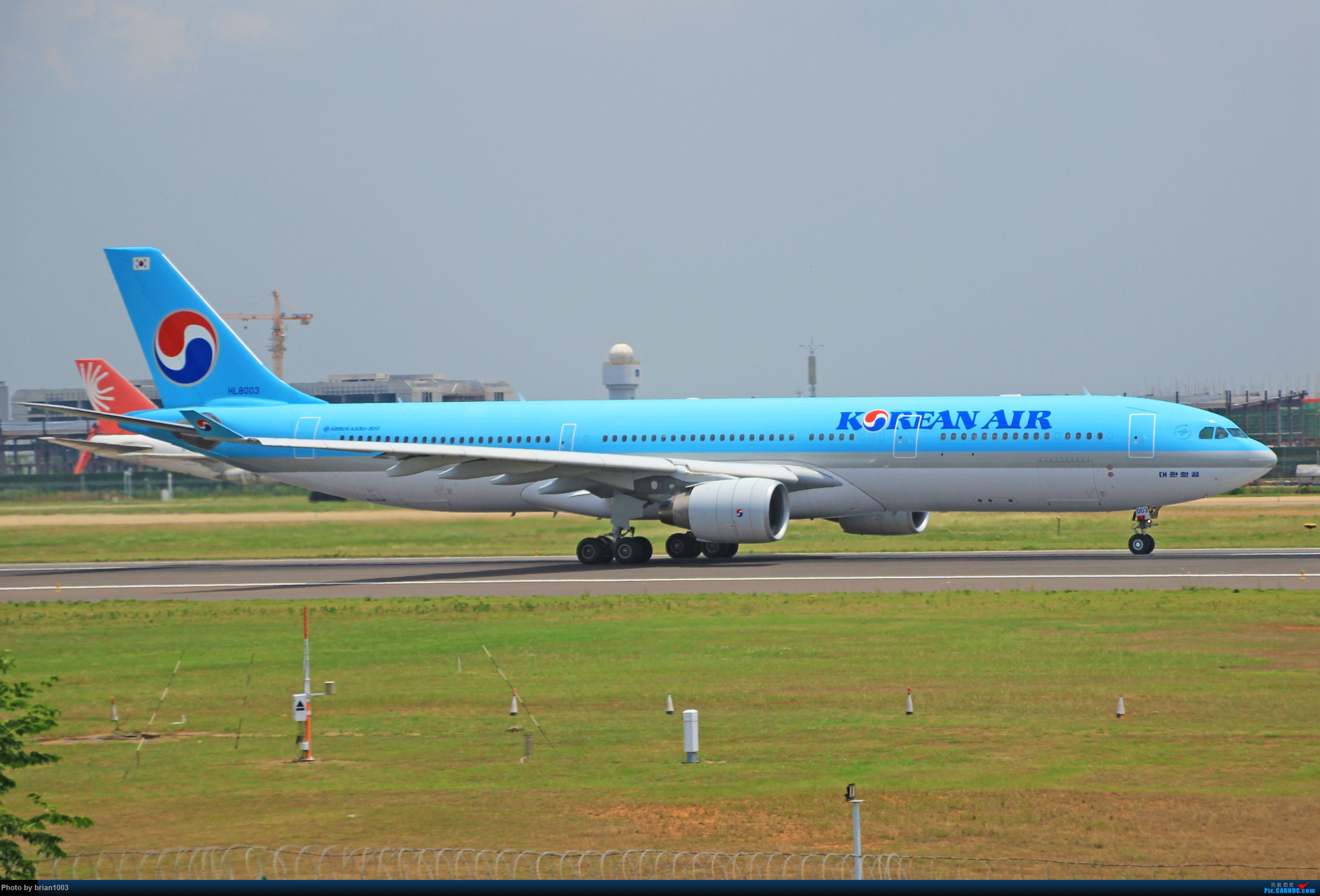 Re:[原创]WUH天河机场拍机之六月还有啥(X7家744F、天津航空333) AIRBUS A330-300 HL-8003 中国武汉天河国际机场