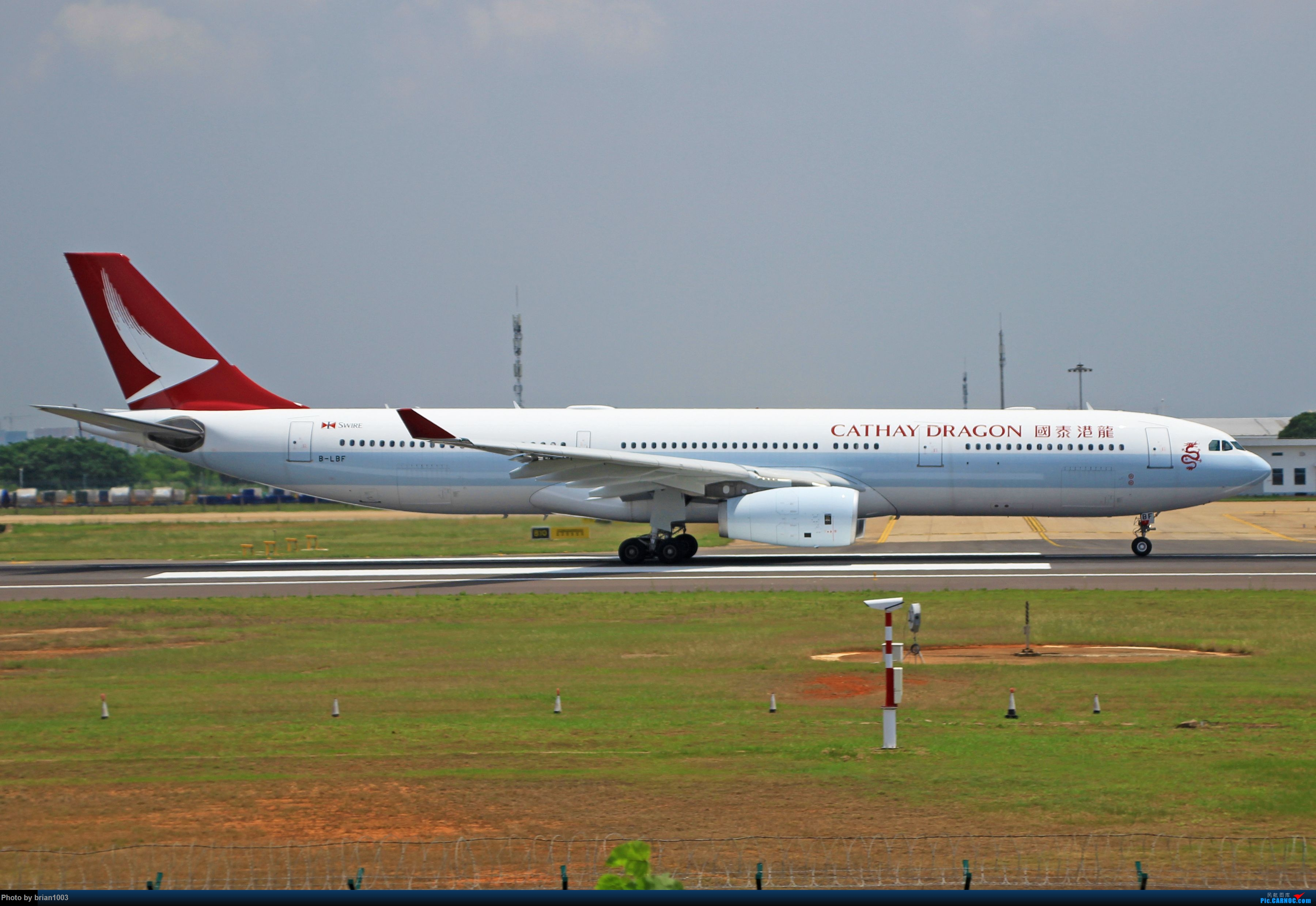 Re:[原创]WUH天河机场拍机之六月还有啥(X7家744F、天津航空333) AIRBUS A330-300 B-LBF 中国武汉天河国际机场