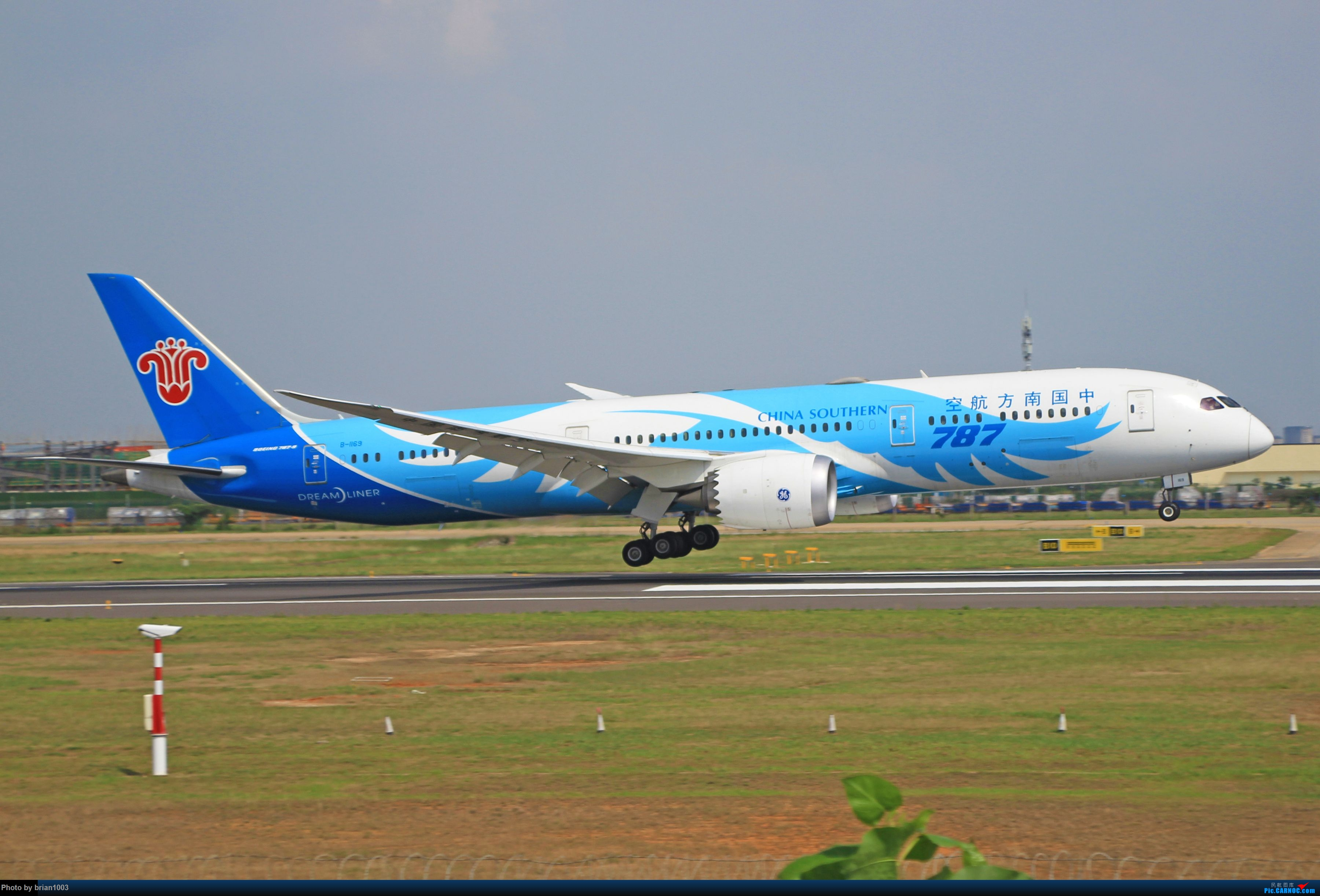 Re:[原创]WUH天河机场拍机之六月还有啥(X7家744F、天津航空333) BOEING 787-9 B-1169 中国武汉天河国际机场
