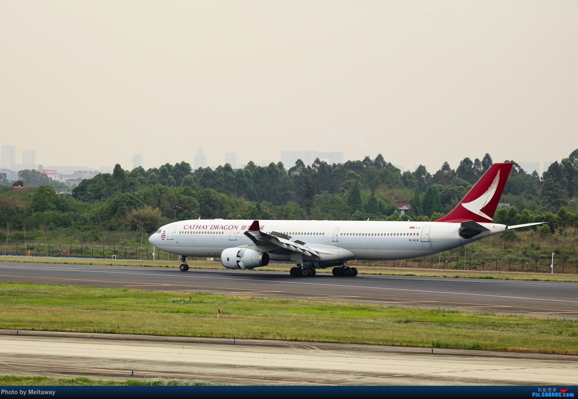 Re:[原创]国泰港龙 A330-300 AIRBUS A330-300 B-HLN 中国成都双流国际机场