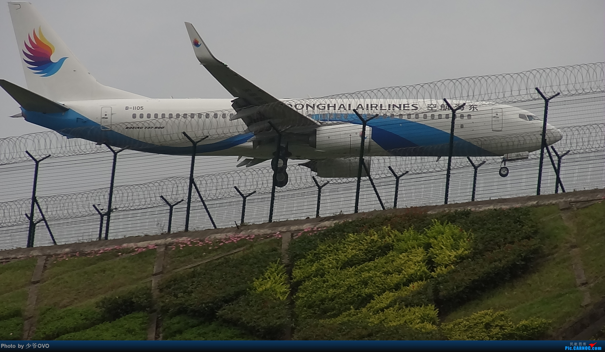 Re:[原创]CKG拍机,数码机最后的倔强 BOEING 737-800 B-1105 中国重庆江北国际机场