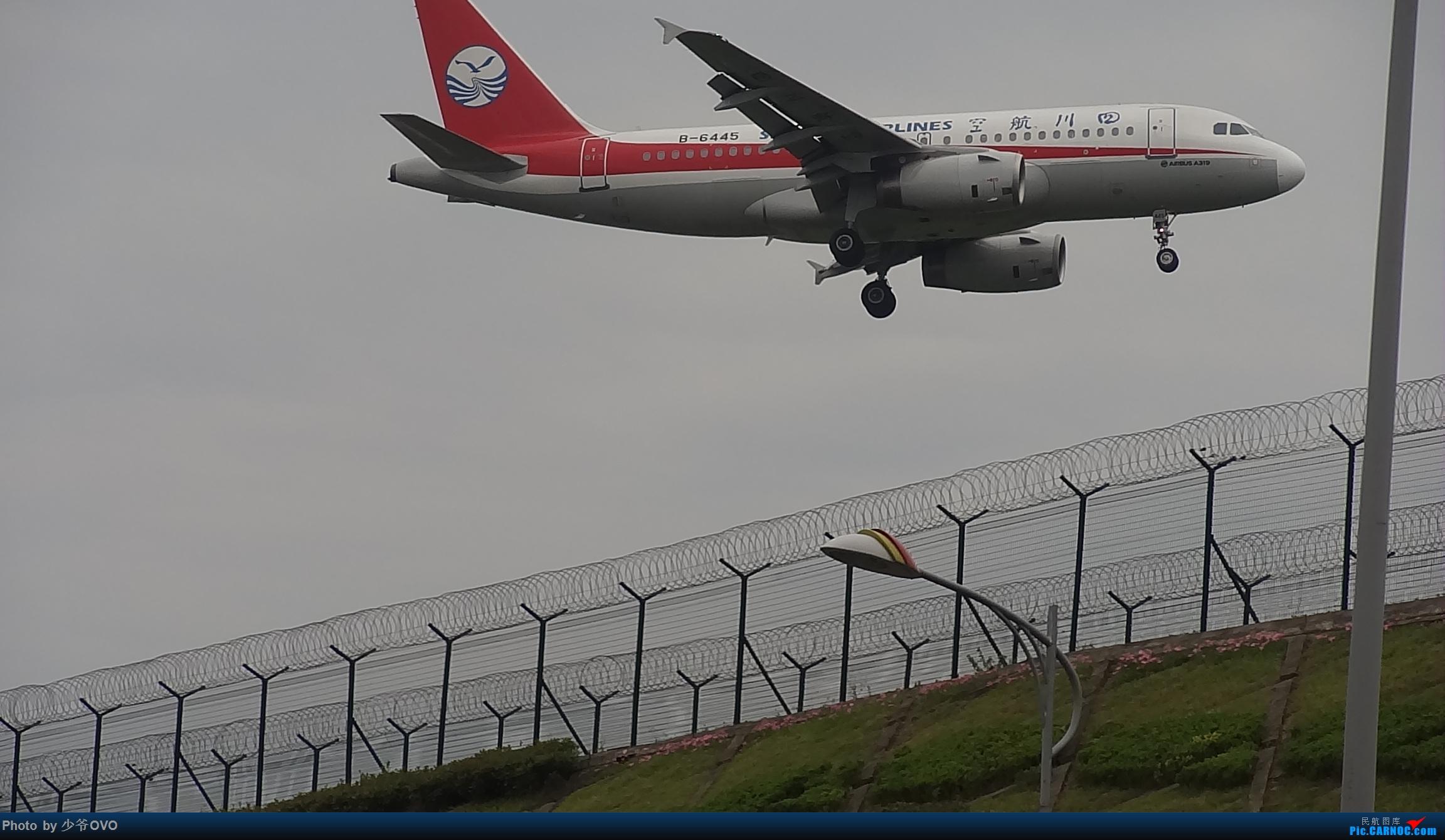 Re:[原创]CKG拍机,数码机最后的倔强 AIRBUS A319-100 B-6445 中国重庆江北国际机场