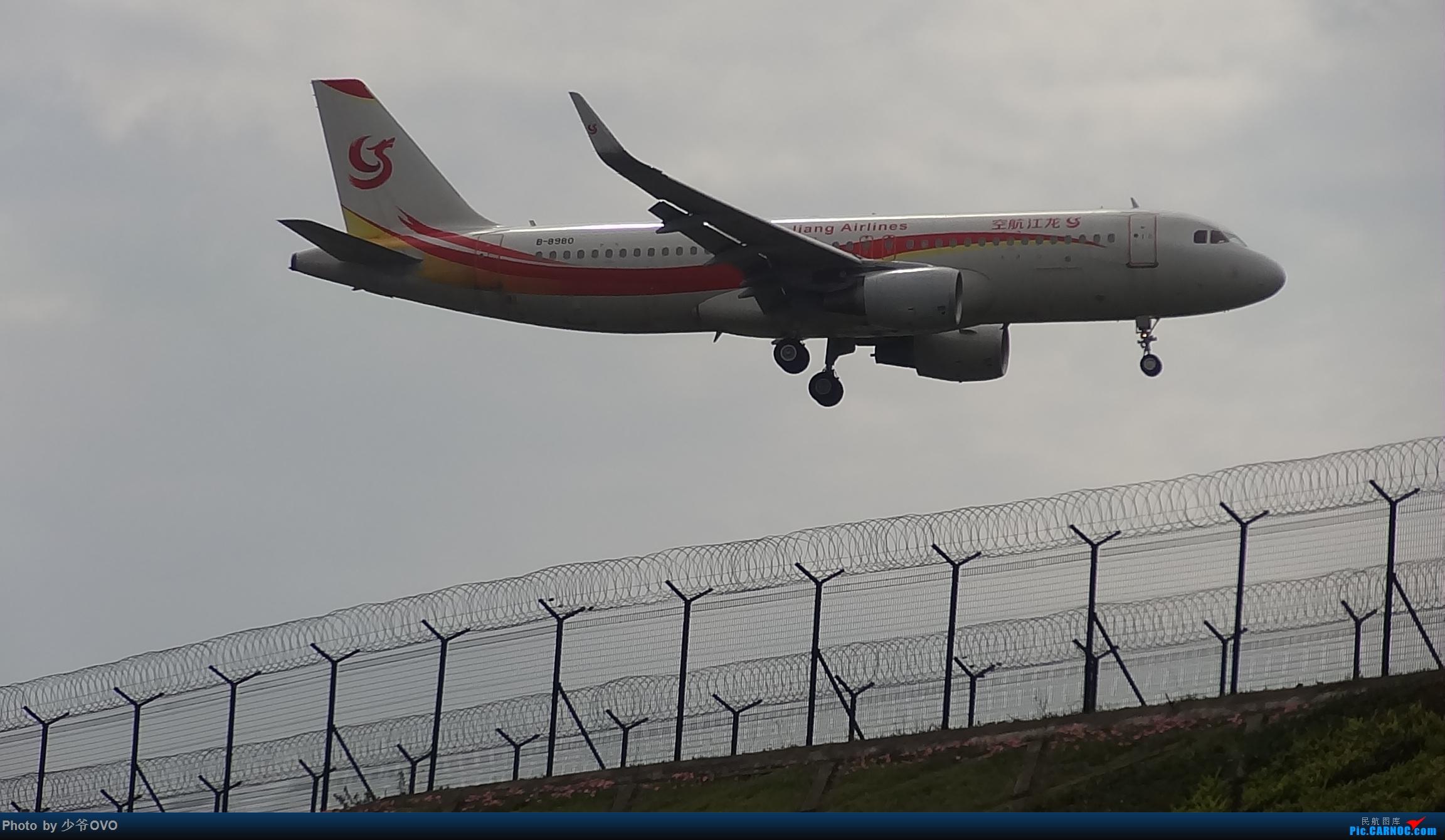 Re:[原创]CKG拍机,数码机最后的倔强 AIRBUS A320-200 B-8980 中国重庆江北国际机场