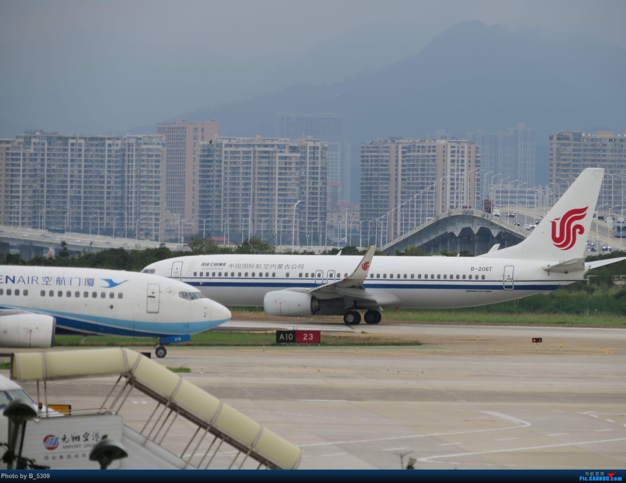 Re:[原创]复课一个月了,终于能在紧张的学习生活中抽出点时间拍稽~ BOEING 737-800 B-206T 中国厦门高崎国际机场