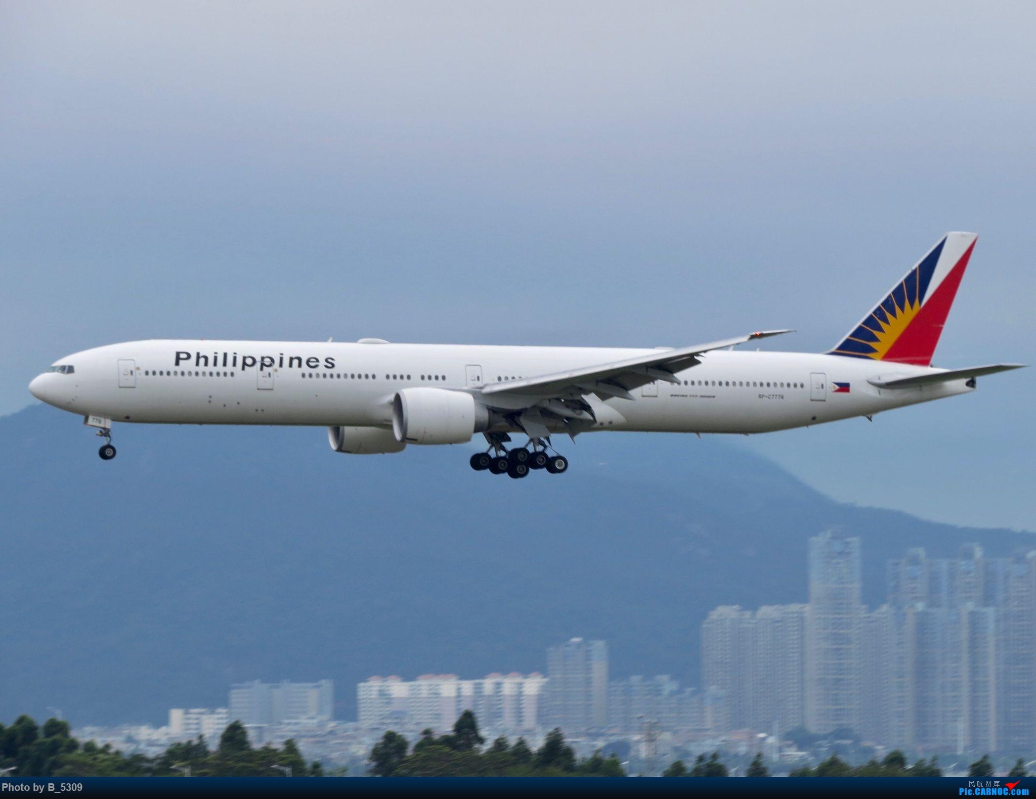 Re:[原创]复课一个月了,终于能在紧张的学习生活中抽出点时间拍稽~ BOEING 777-300ER RP-C7776 中国厦门高崎国际机场