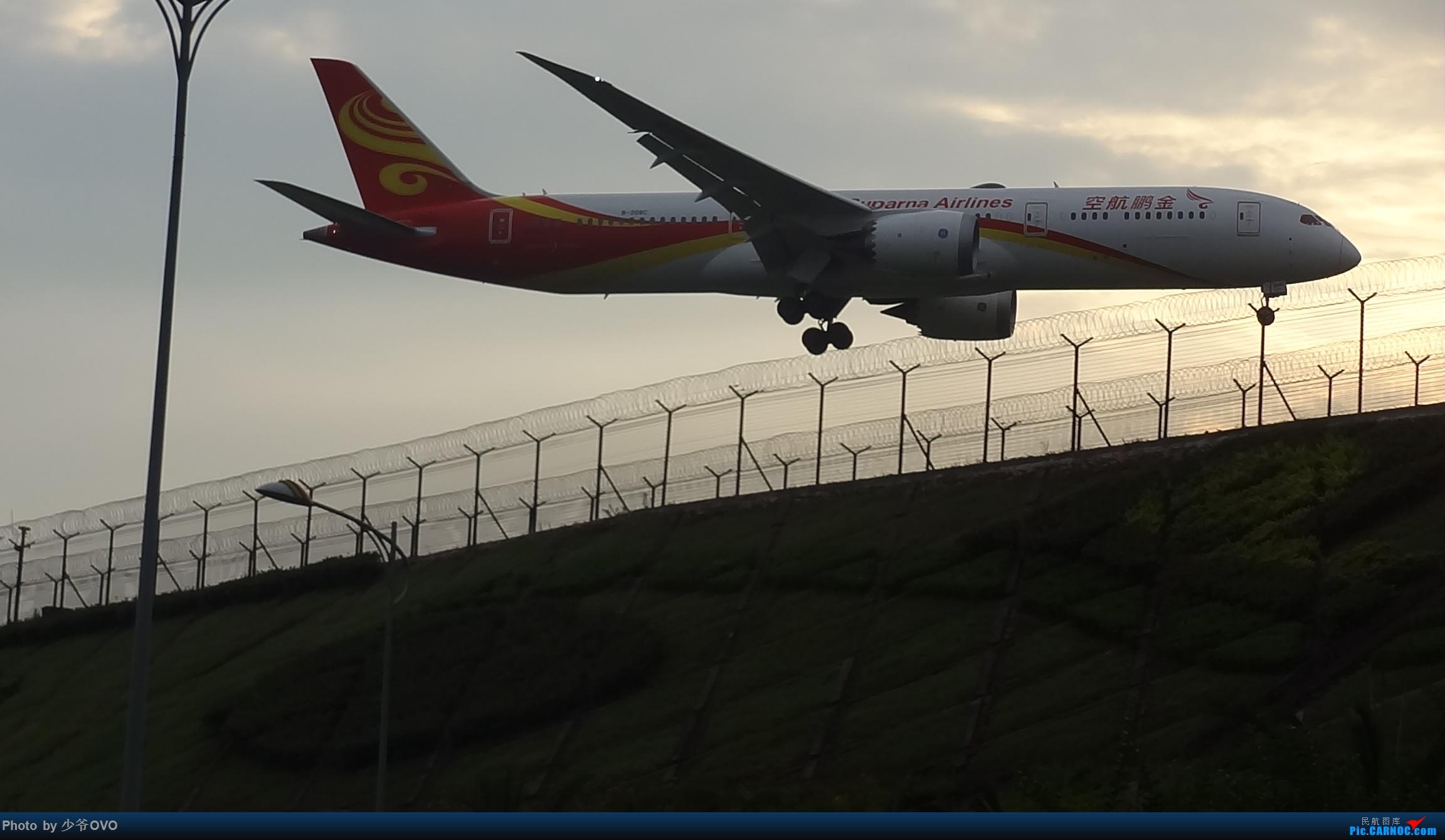 Re:[原创]CKG拍机,数码机最后的倔强 BOEING 787-9 B-208C 中国重庆江北国际机场