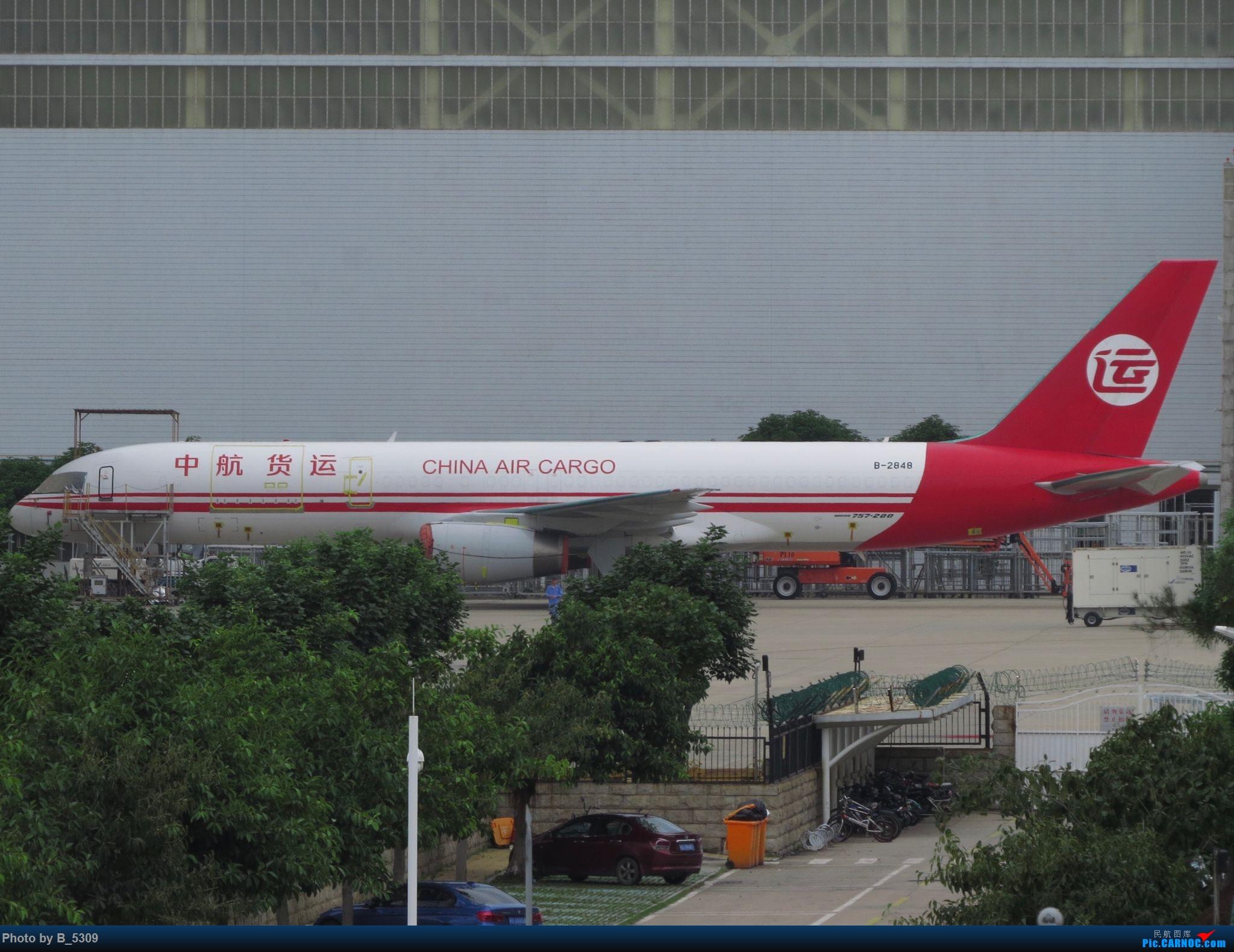 Re:[原创]复课一个月了,终于能在紧张的学习生活中抽出点时间拍稽~ BOEING 757-200 B-2848 中国厦门高崎国际机场