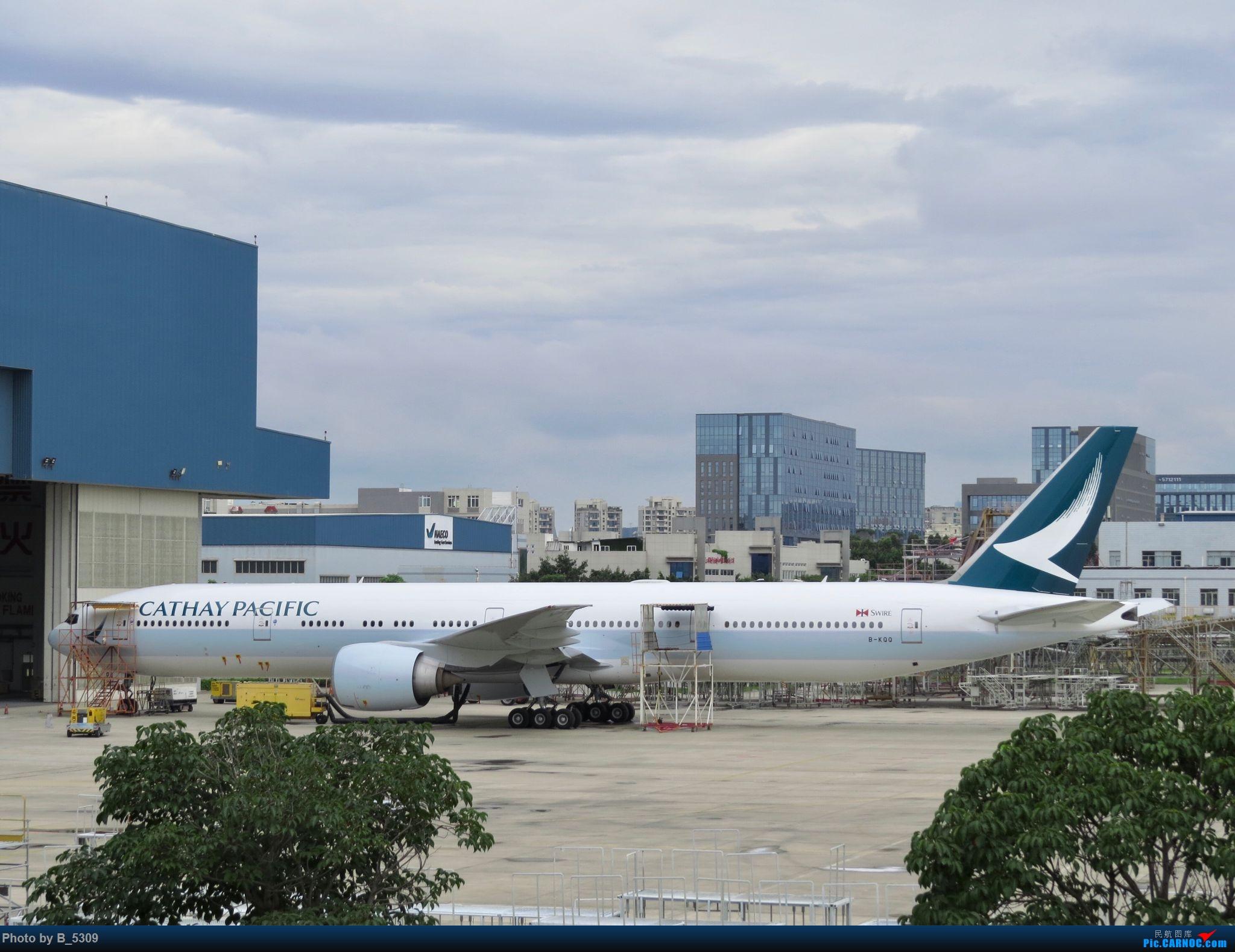 Re:[原创]复课一个月了,终于能在紧张的学习生活中抽出点时间拍稽~ BOEING 777-300ER B-KQQ 中国厦门高崎国际机场