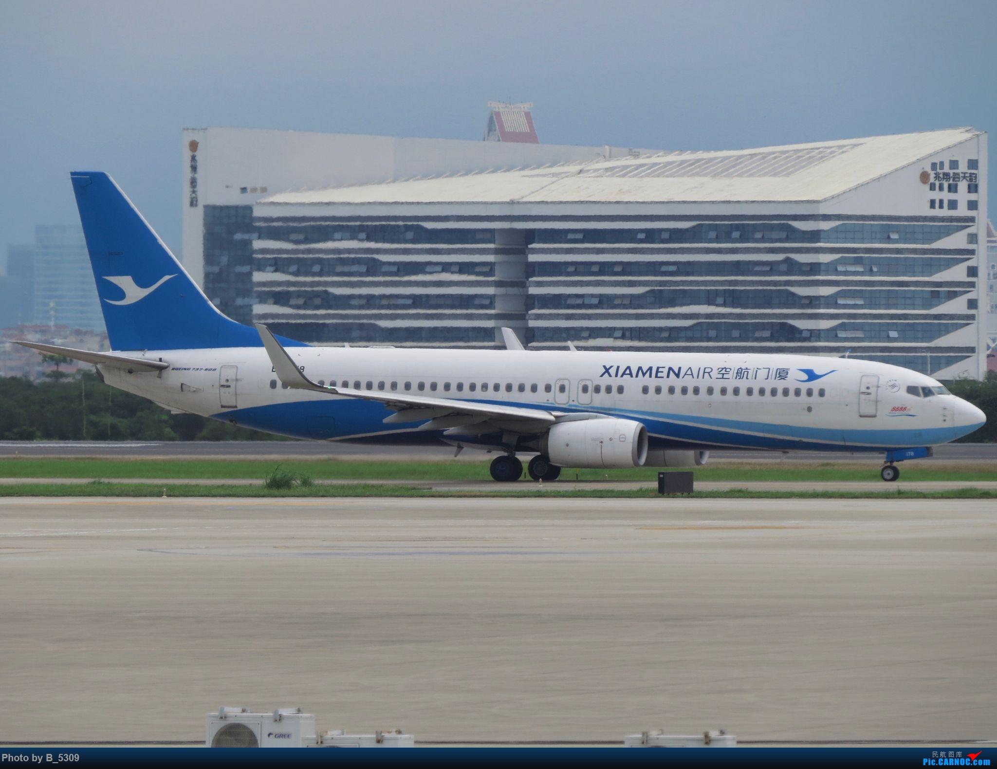 Re:[原创]复课一个月了,终于能在紧张的学习生活中抽出点时间拍稽~ BOEING 737-800 B-7178 中国厦门高崎国际机场
