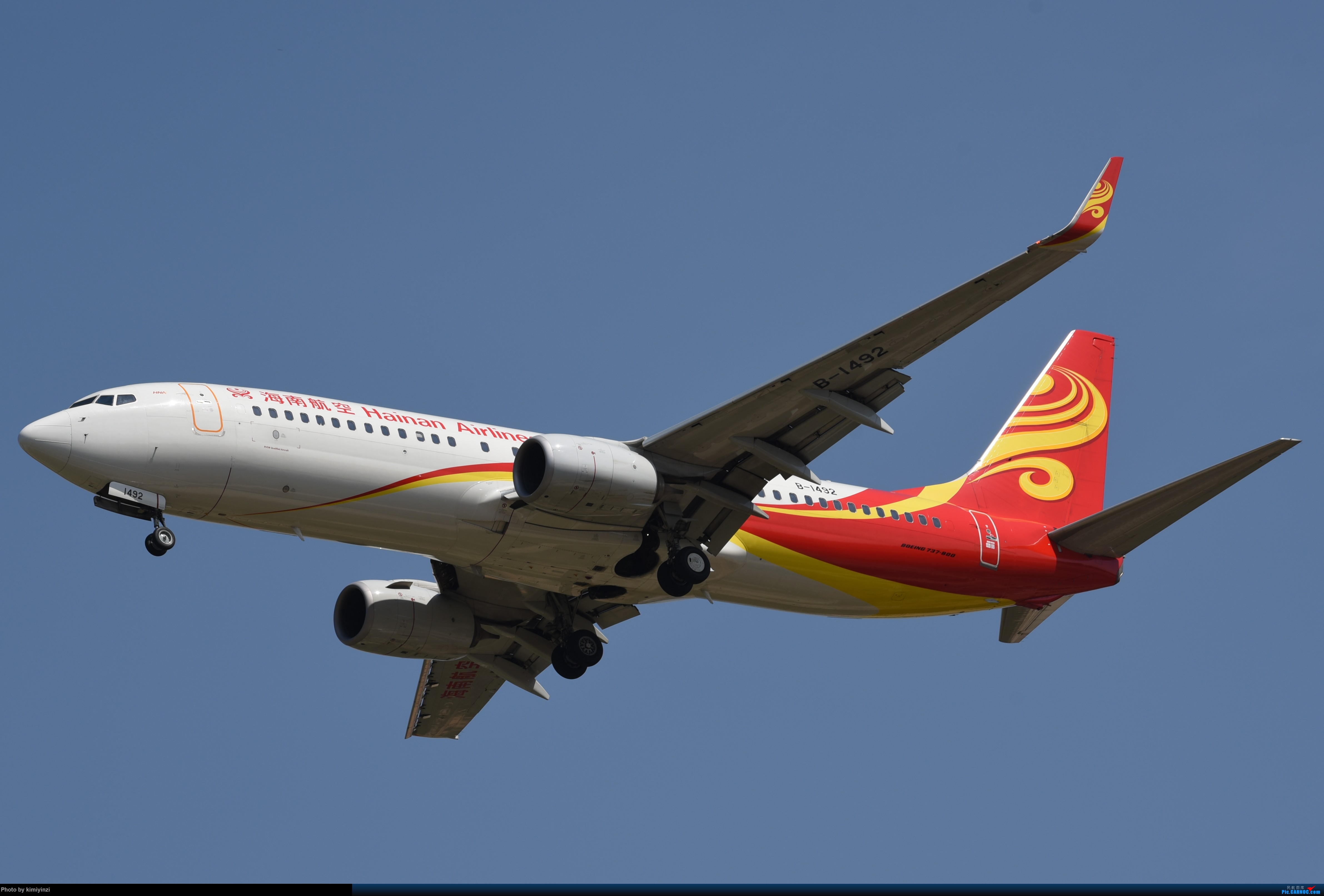 [原创]KWE非常时期的贵阳龙洞堡 BOEING 737-800 B-1492 KWE