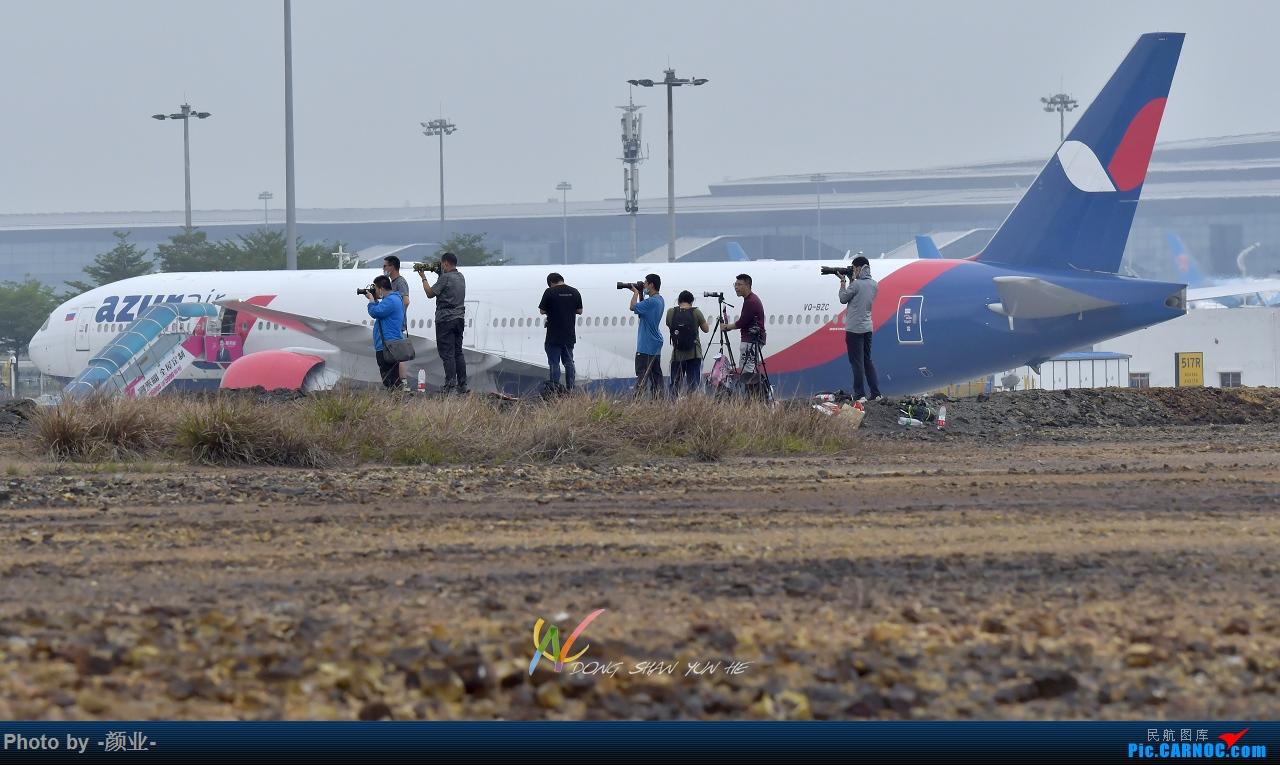 Re:走近飞机起降点(无尽创意) BOEING 777-300 VQ-BZC 中国广州白云国际机场