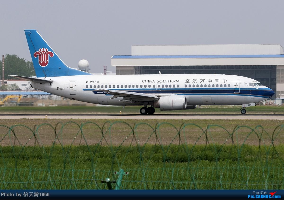 Re:[原创]【信天游1966的影像】继续冒 客改货 BOEING 737-300 B-2959