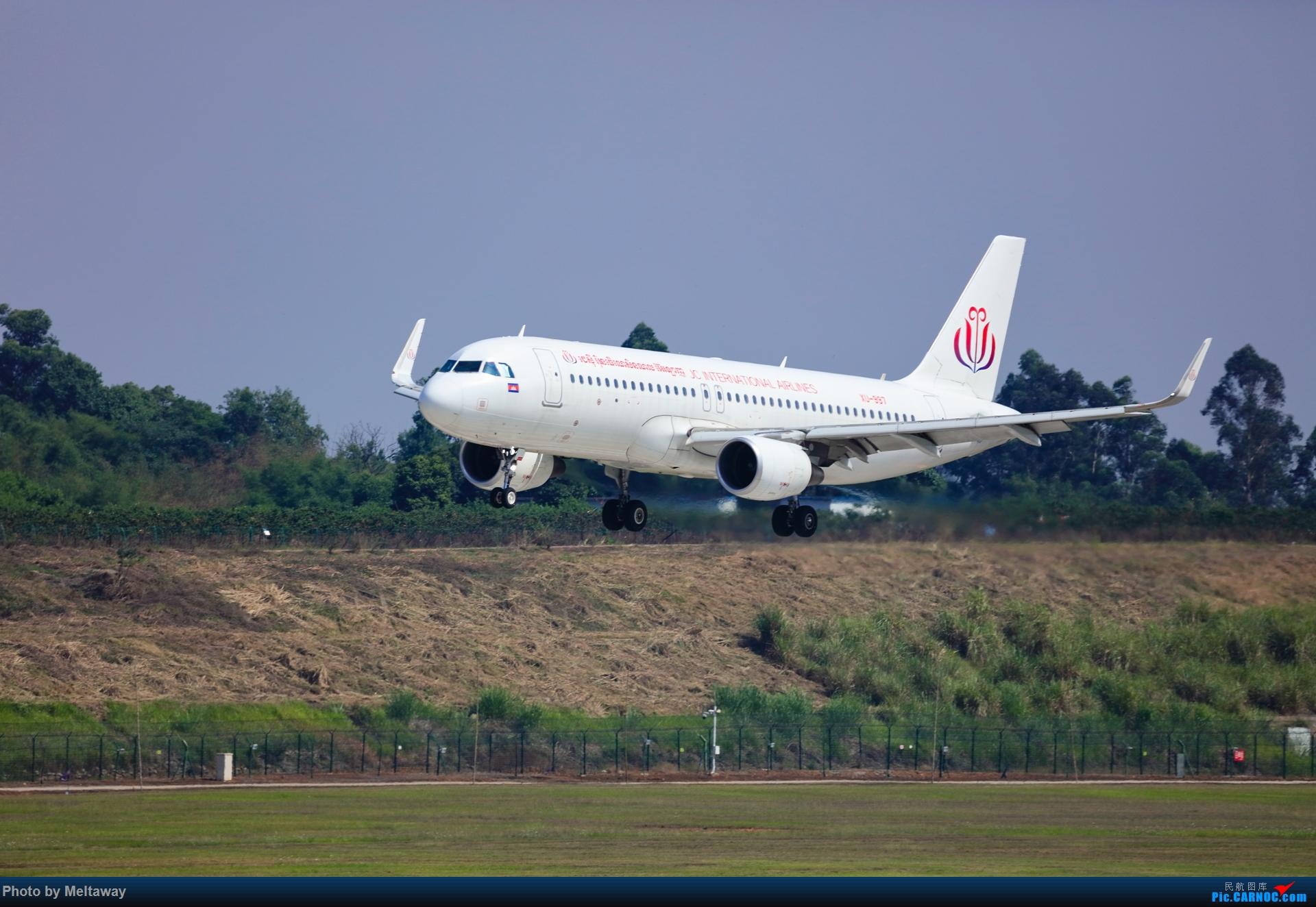 [原创]JC(柬埔寨)国际航空 A320 AIRBUS A320  中国成都双流国际机场