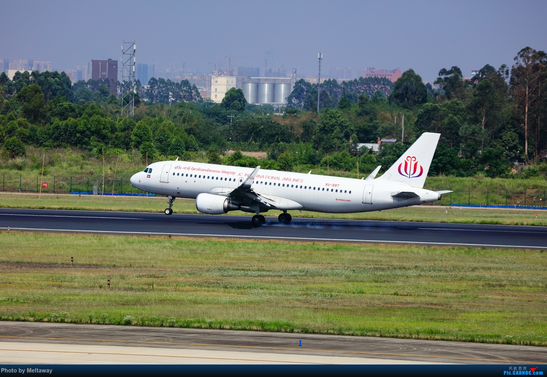 Re:[原创]JC(柬埔寨)国际航空 A320 AIRBUS A320