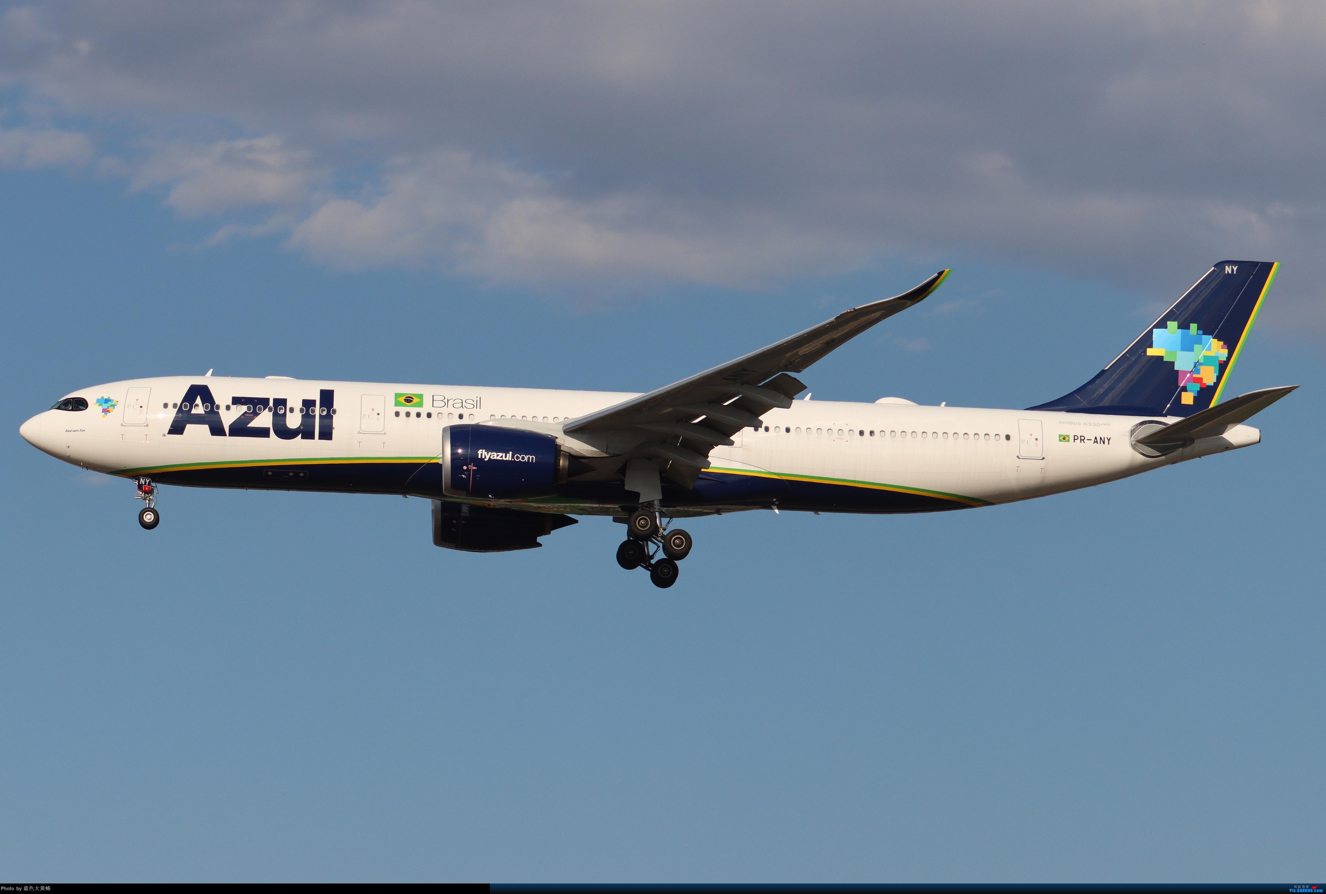 [原创]蔚蓝航空首航PEK,同时也是首航中国 AIRBUS A330-941 PR-ANY 中国北京首都国际机场