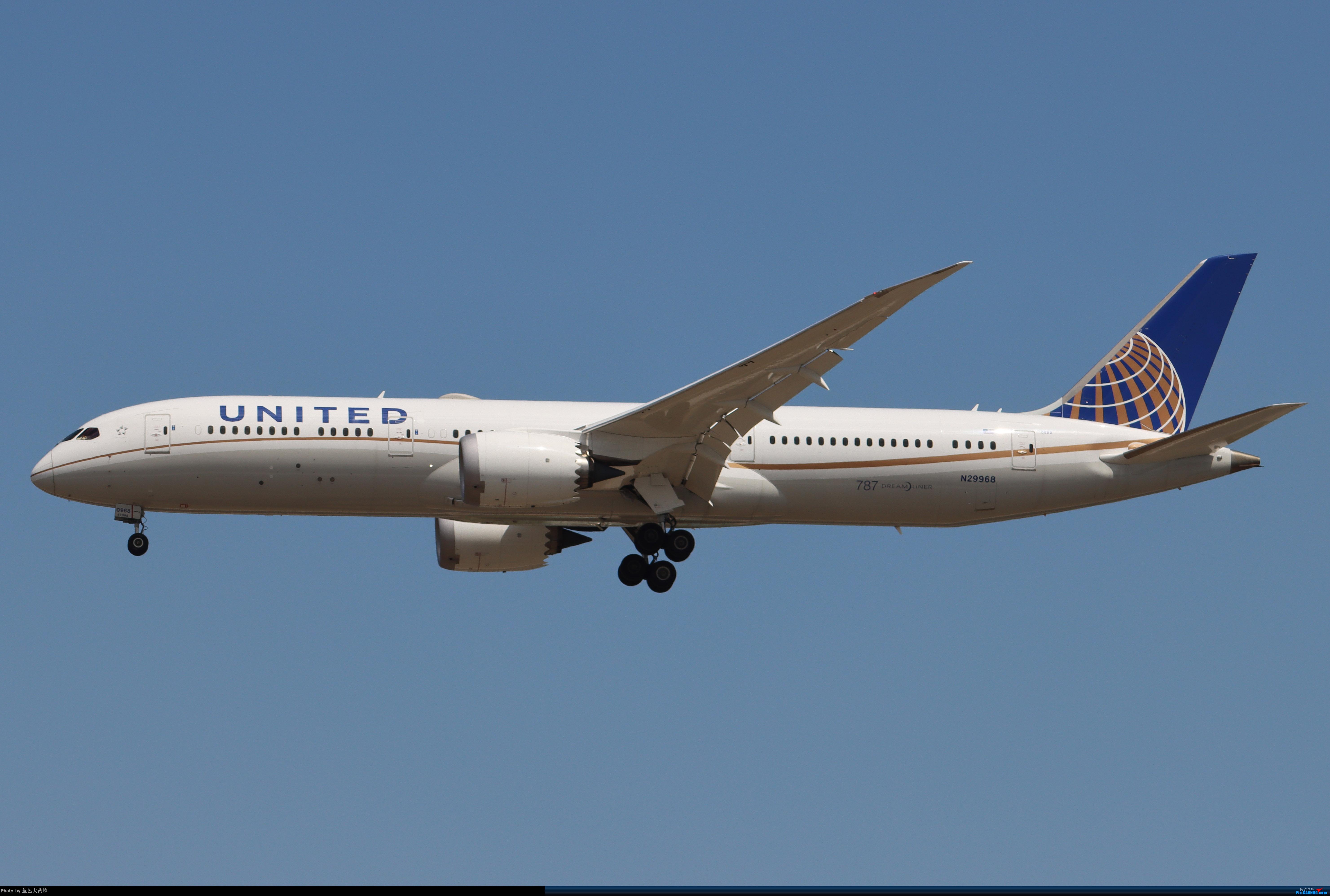 Re:[原创]PEK5.24随拍 BOEING 787-9 N29968 中国北京首都国际机场