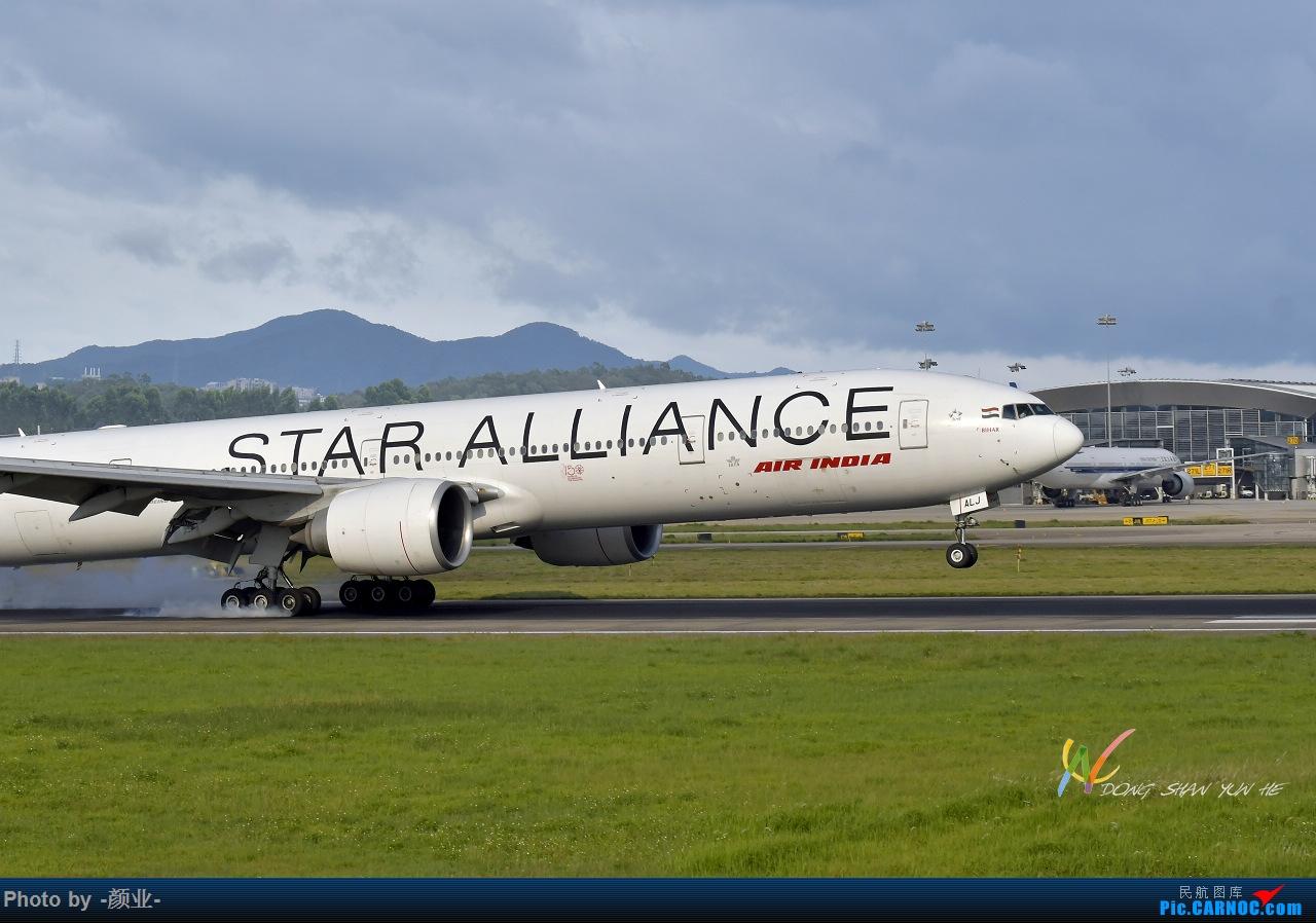Re:走近飞机起降点(无尽创意) BOEING 777-300ER VT-ALJ 中国广州白云国际机场