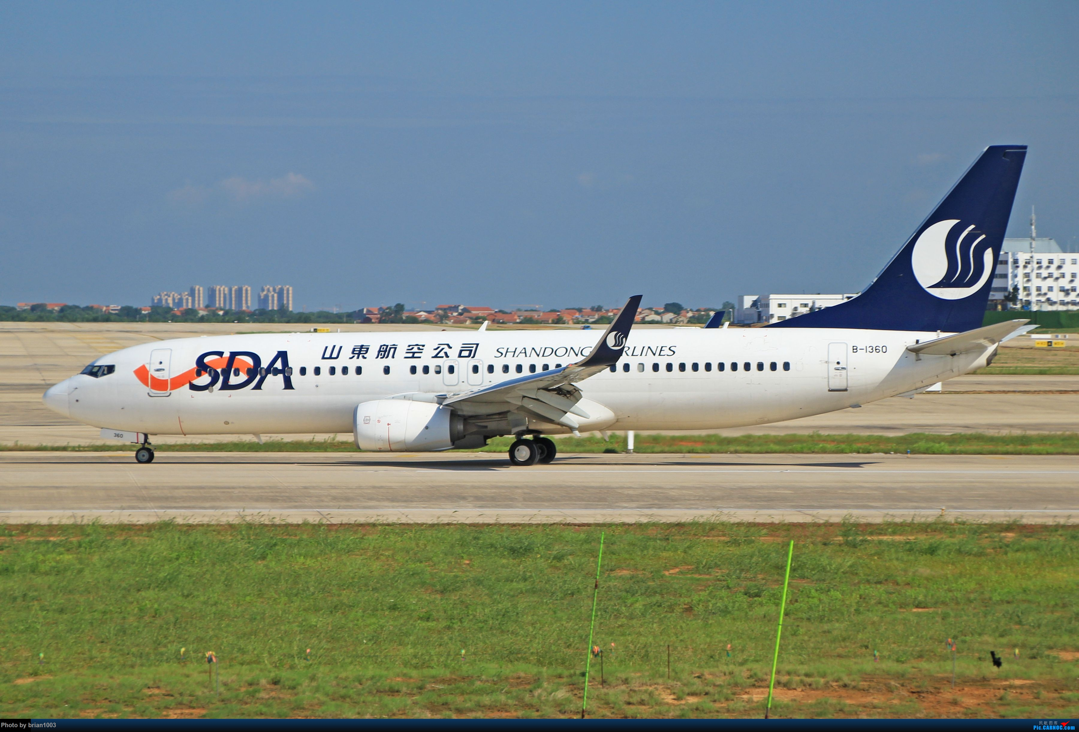 Re:[原创]WUH天河机场拍机之六月还有啥(X7家744F、天津大韩港龙333、巴基斯坦772、B6419) BOEING 737-800 B-1360 中国武汉天河国际机场