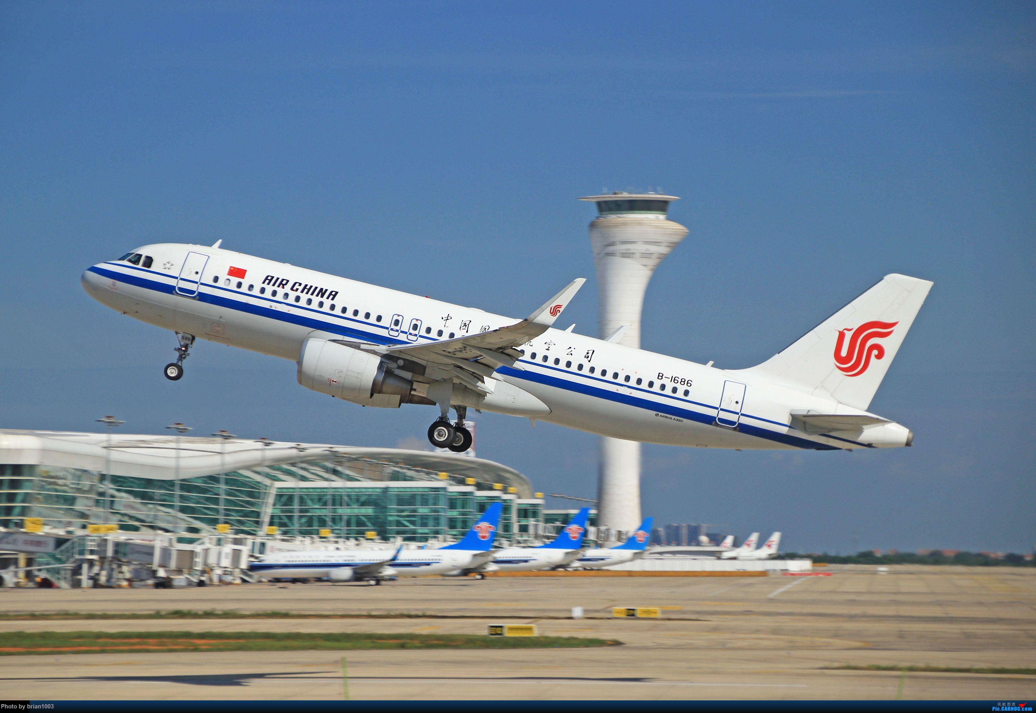 Re:[原创]WUH天河机场拍机之六月还有啥(X7家744F、天津大韩港龙333、巴基斯坦772、B6419) AIRBUS A320-200 B-1686 中国武汉天河国际机场