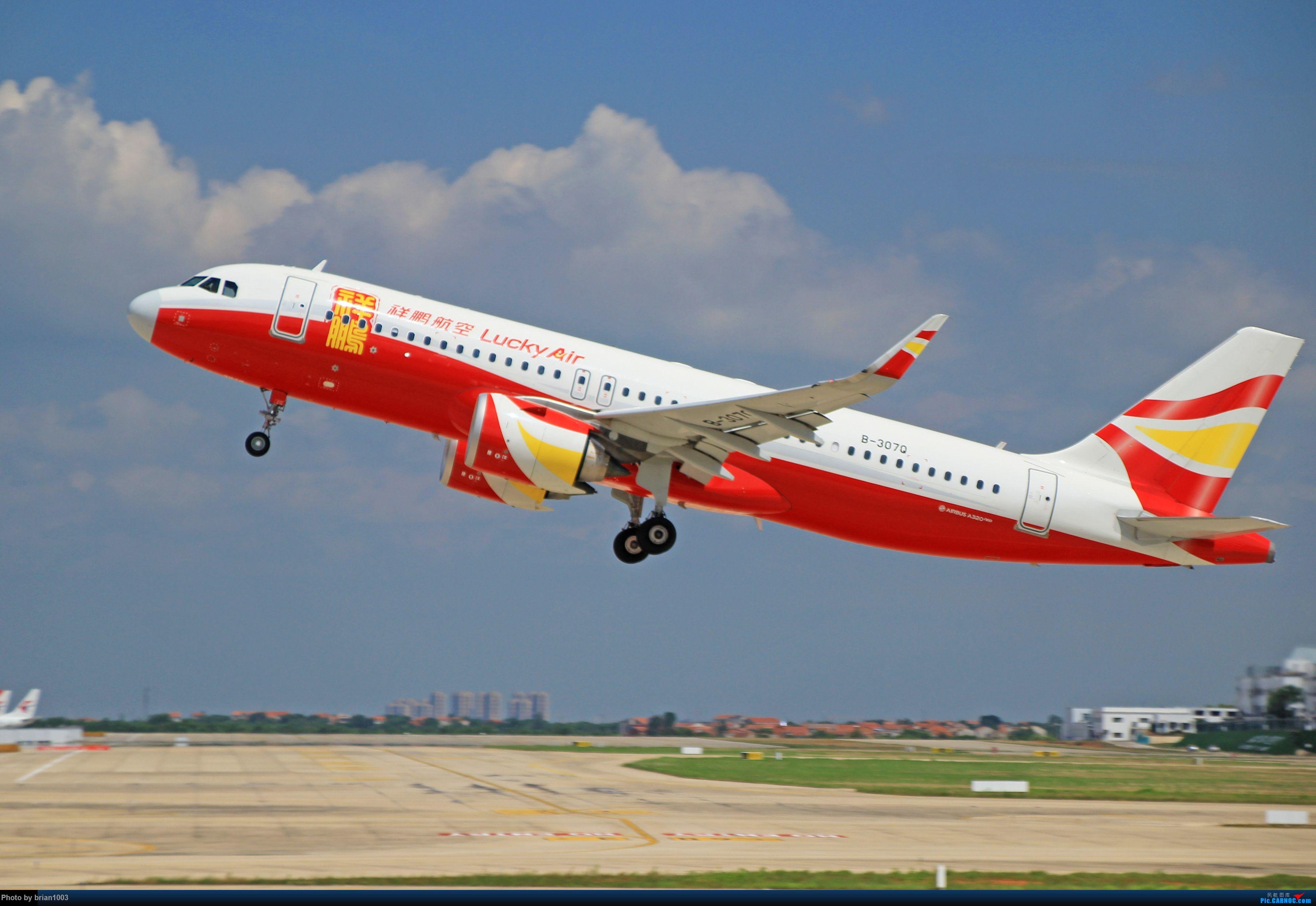 Re:[原创]WUH天河机场拍机之六月还有啥(X7家744F、天津大韩港龙333、巴基斯坦772、B6419) AIRBUS A320NEO B-307Q 中国武汉天河国际机场