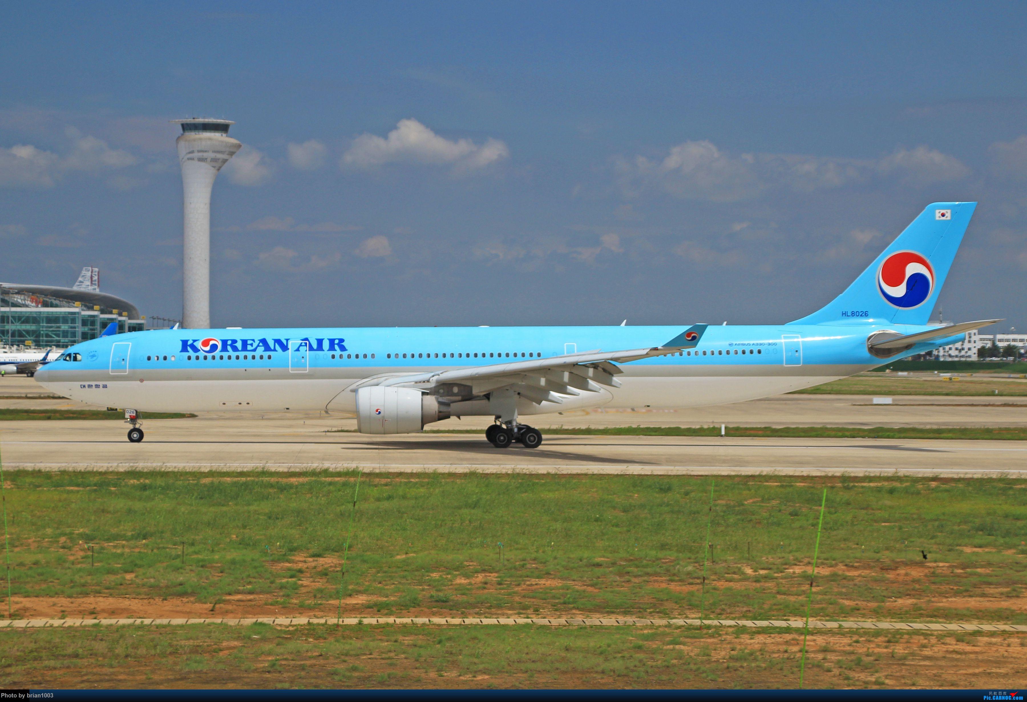 Re:[原创]WUH天河机场拍机之六月还有啥(X7家744F、天津大韩港龙333、巴基斯坦772、B6419) AIRBUS A330-300 HL8026 中国武汉天河国际机场