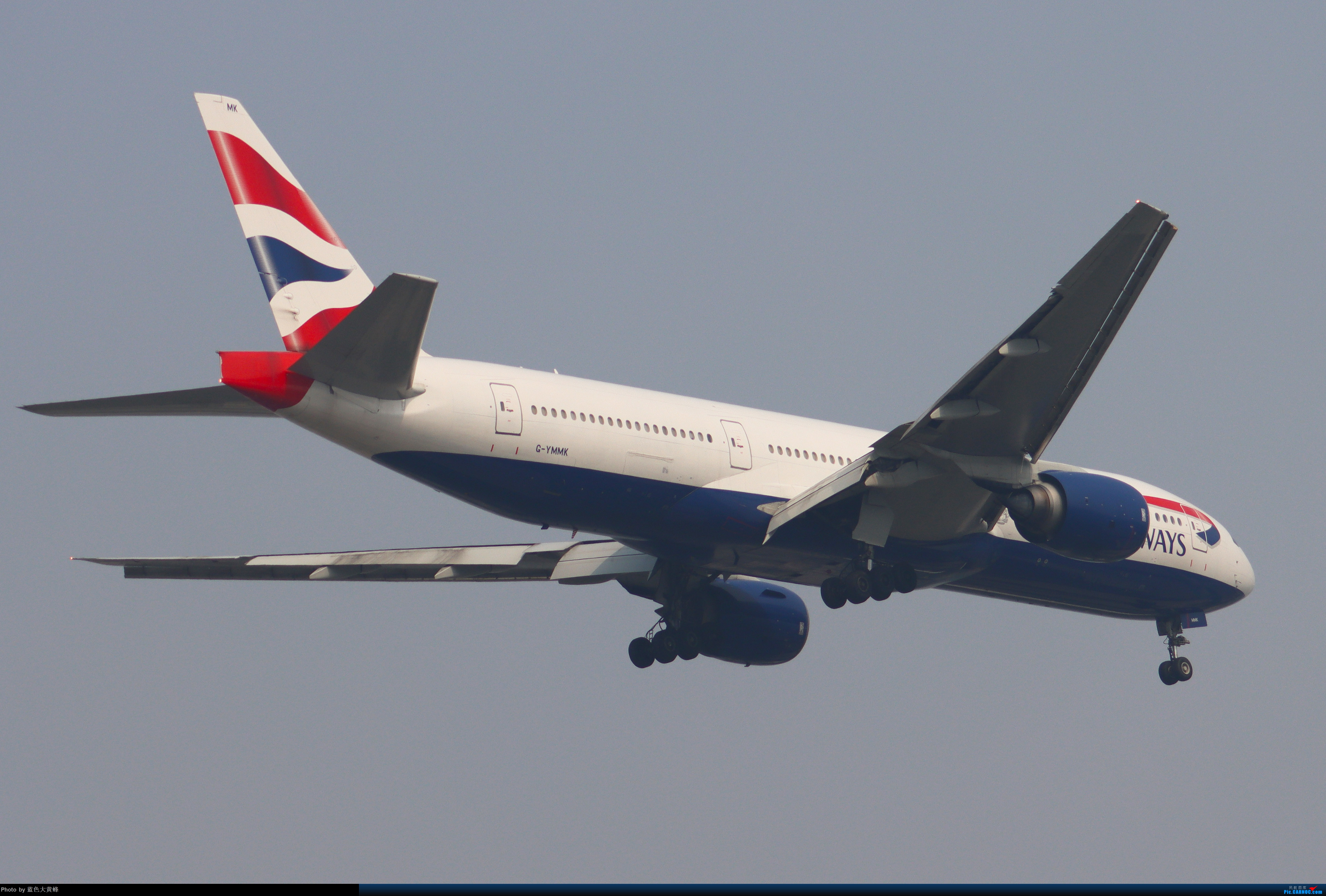 Re:[原创]2020.5.30PEK拍机,偶遇联邦的MD11给18R降落,实属罕见 BOEING 777-200ER G-YMMK 中国北京首都国际机场