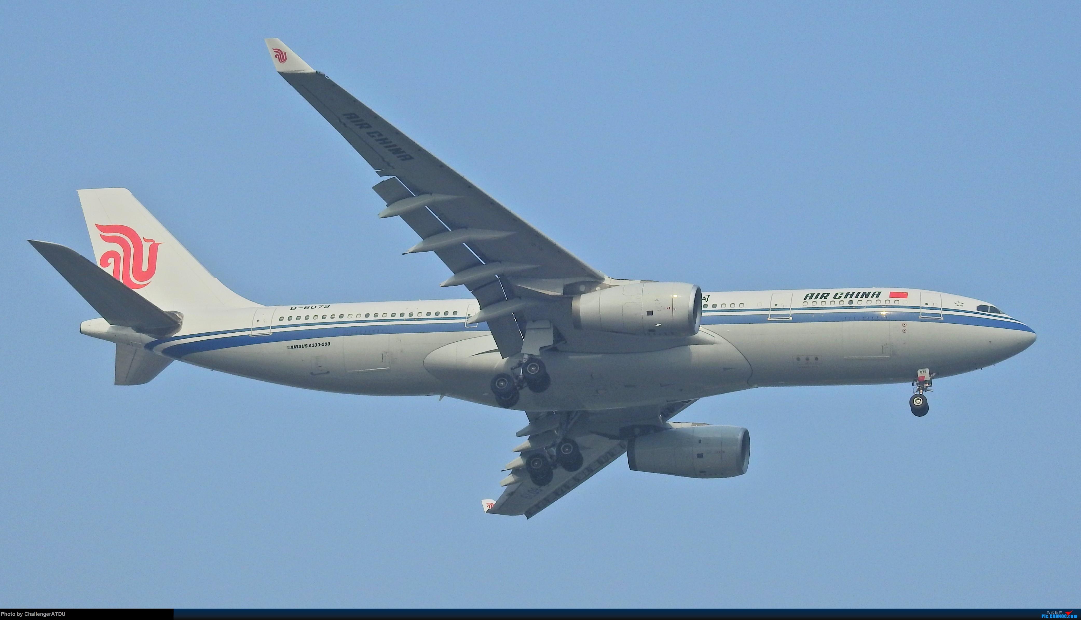 [原创]2020-5-30 萌新のPEK之旅 AIRBUS A330-200 B-6079 北京首都国际机场