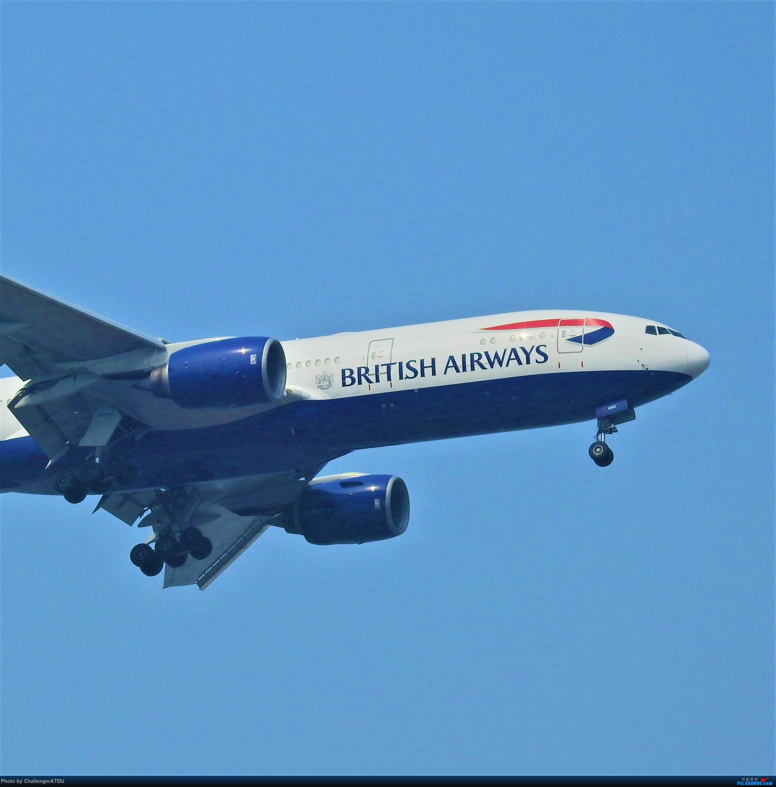[原创]2020-5-30 萌新のPEK之旅 BOEING 777-200ER G-YMMK 北京首都国际机场