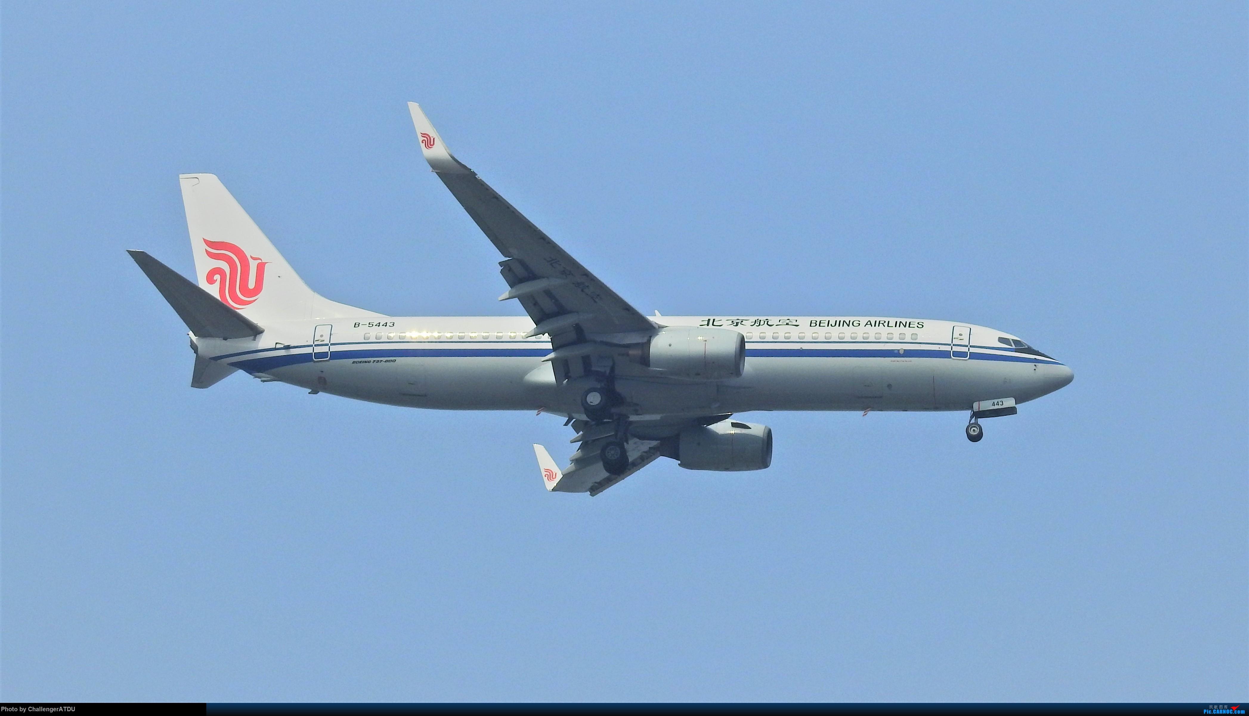 Re:[原创]2020-5-30 萌新のPEK之旅 BOEING 737-800 B-5443 北京首都国际机场