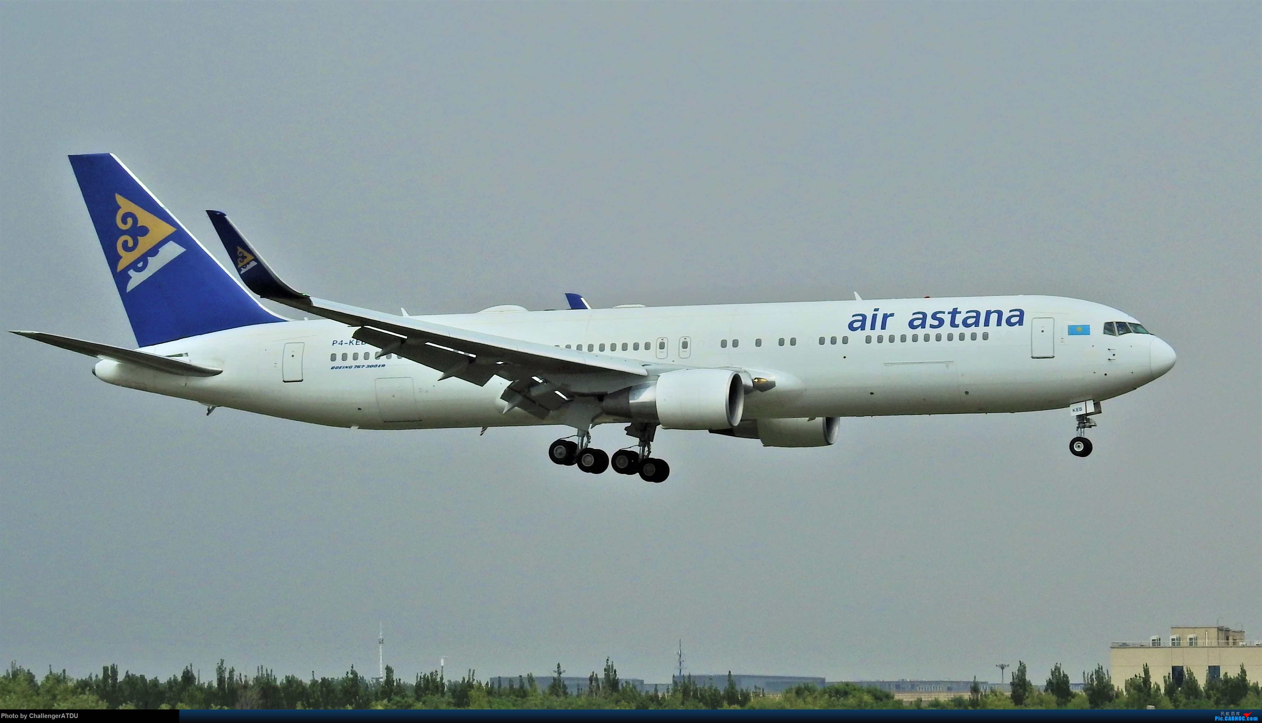 [原创]2020-5-30 萌新のPEK之旅 BOEING 767-300ER P4-KEB 北京首都国际机场