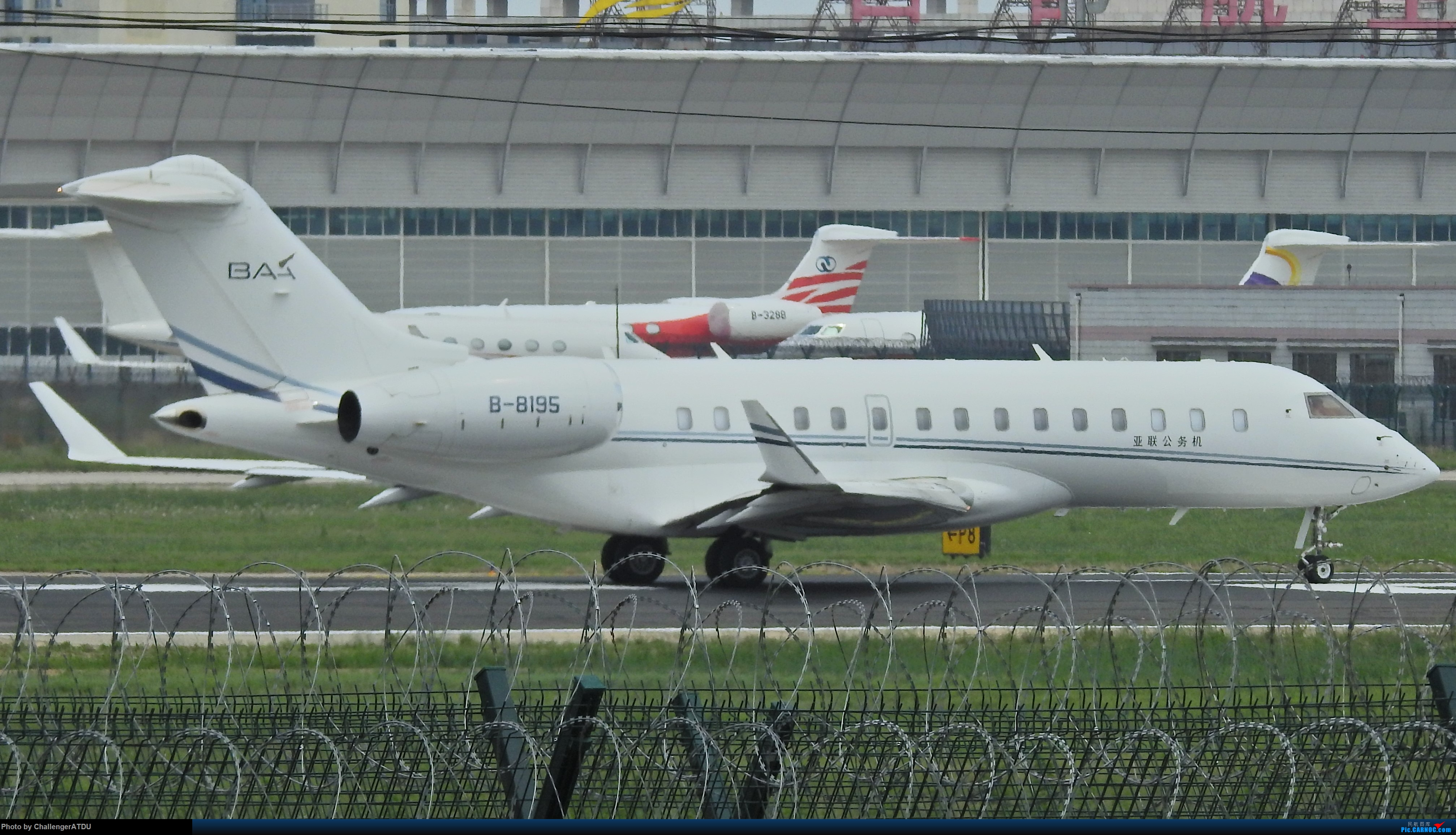 Re:[原创]2020-5-30 萌新のPEK之旅 BOMBARDIER BD-700-1A10 B-8195 北京首都国际机场
