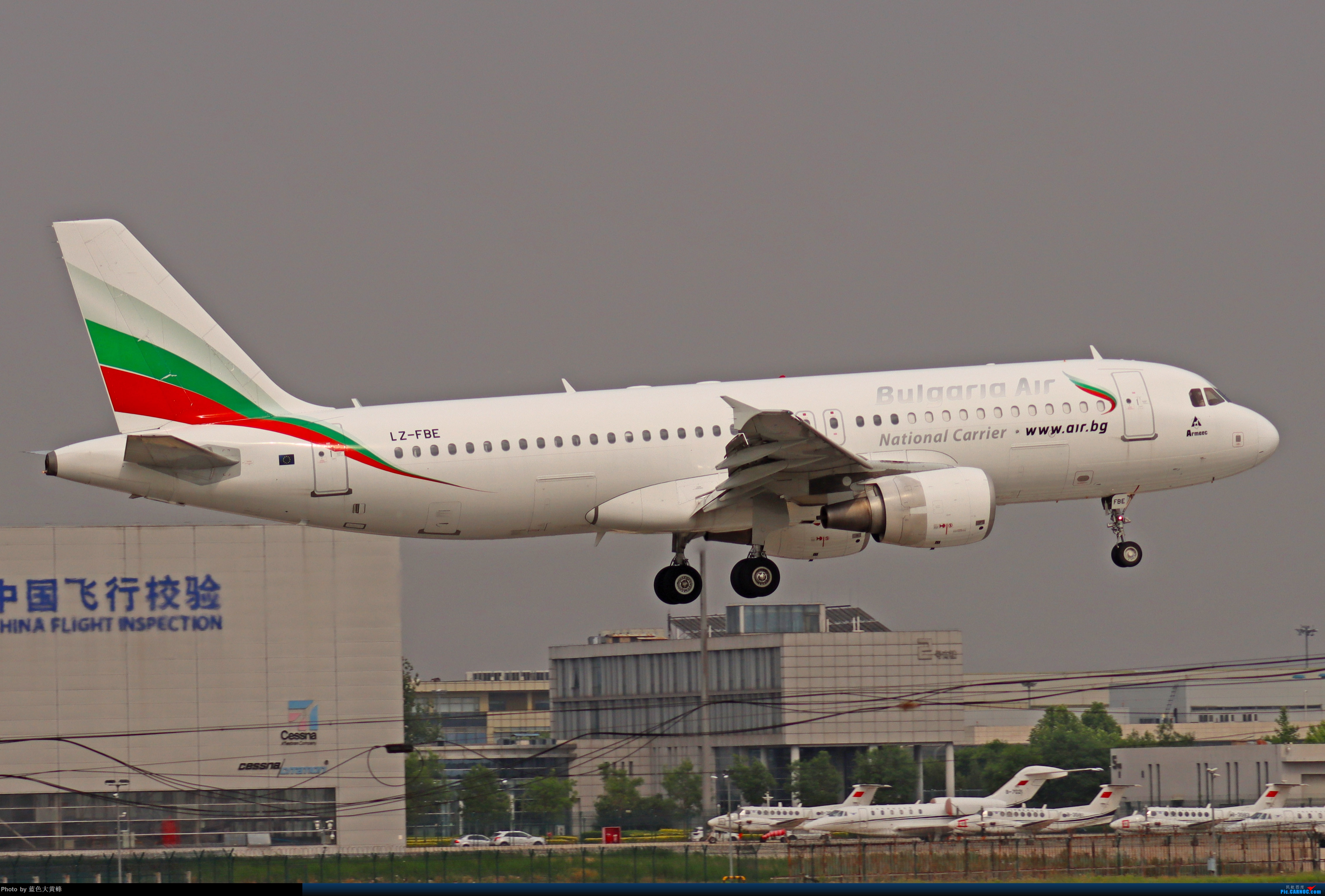 Re:[原创]2020.5.30PEK拍机,偶遇联邦的MD11给18R降落,实属罕见 AIRBUS A320-200 LZ-FBE 中国北京首都国际机场