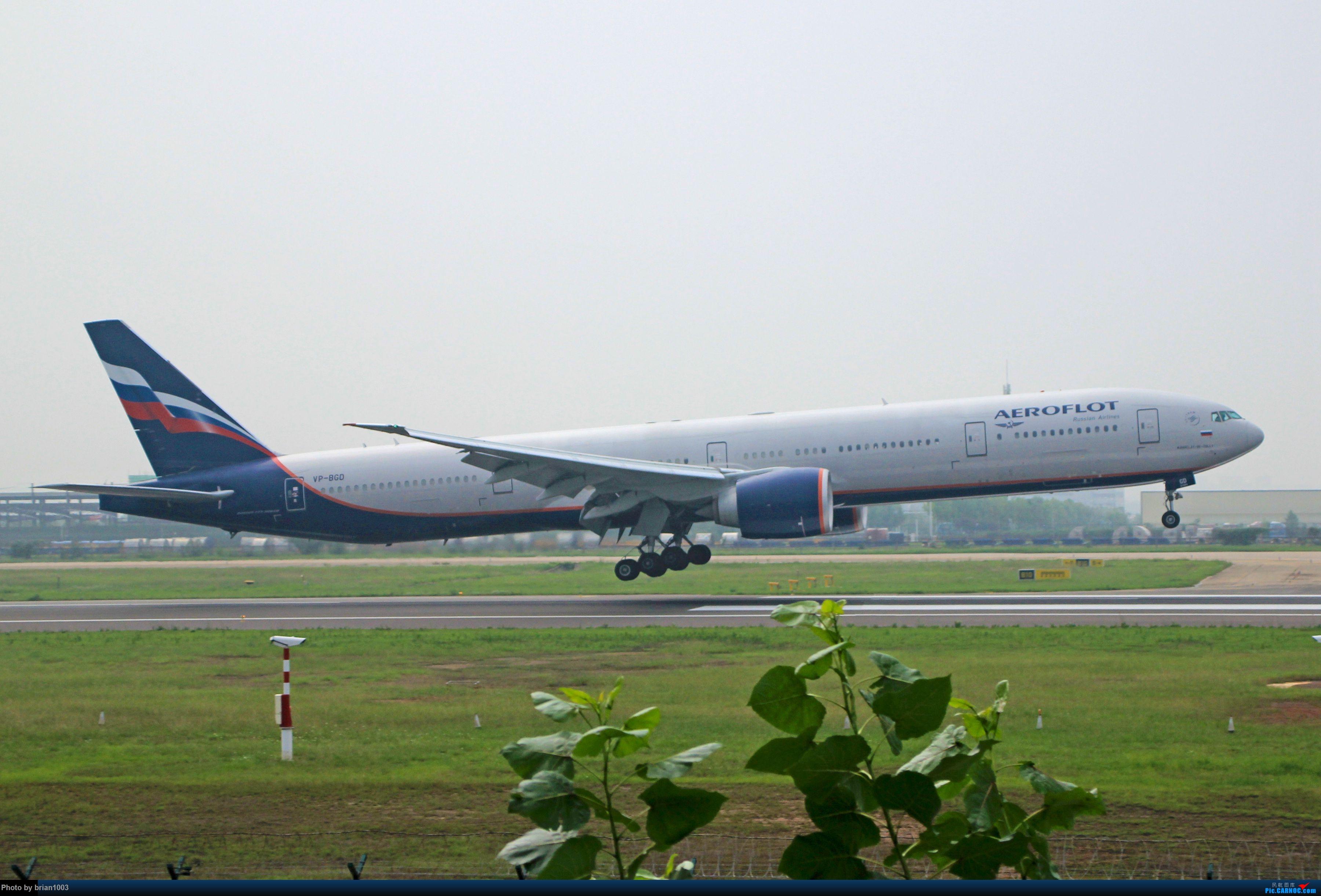 Re:[原创]WUH天河机场拍机之六月还有啥(X7家744F、天津大韩港龙333、巴基斯坦772、B6419、ER-BBJ 74F、某菊塞斯纳) BOEING 777-300ER VP-BGD 中国武汉天河国际机场