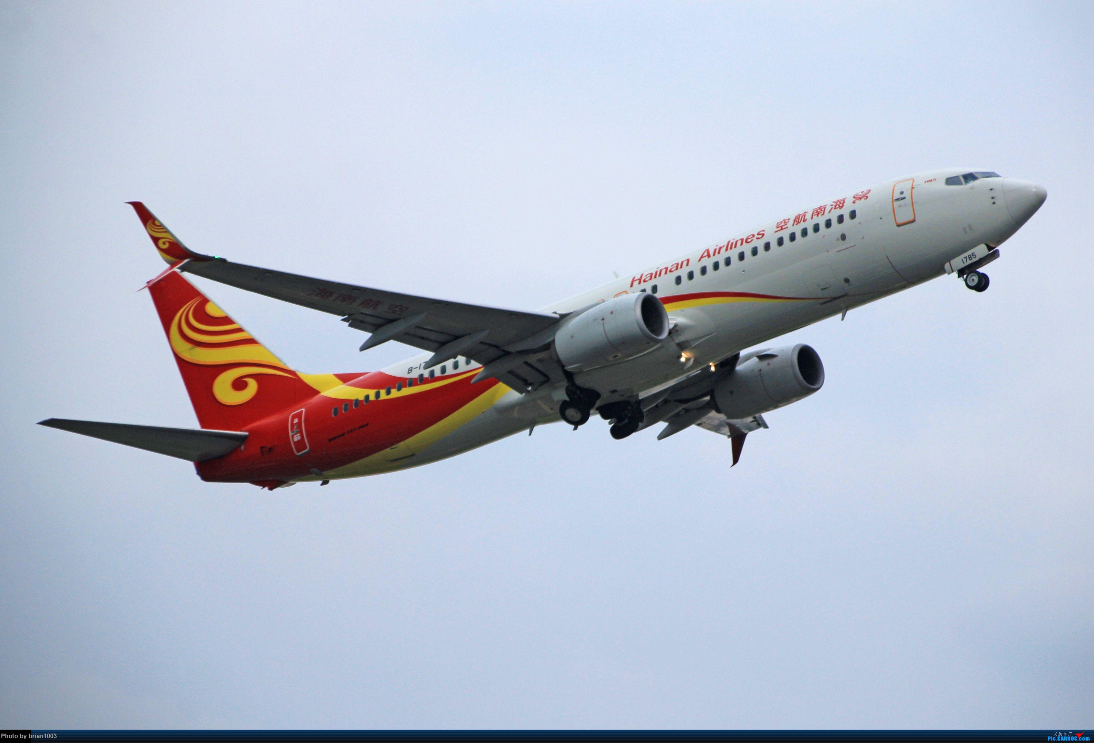 Re:[原创]WUH天河机场拍机之六月还有啥(X7家744F、天津大韩港龙333、巴基斯坦772、B6419、ER-BBJ 74F、某菊塞斯纳、俄航国航77W) BOEING 737-800 B-1785 中国武汉天河国际机场