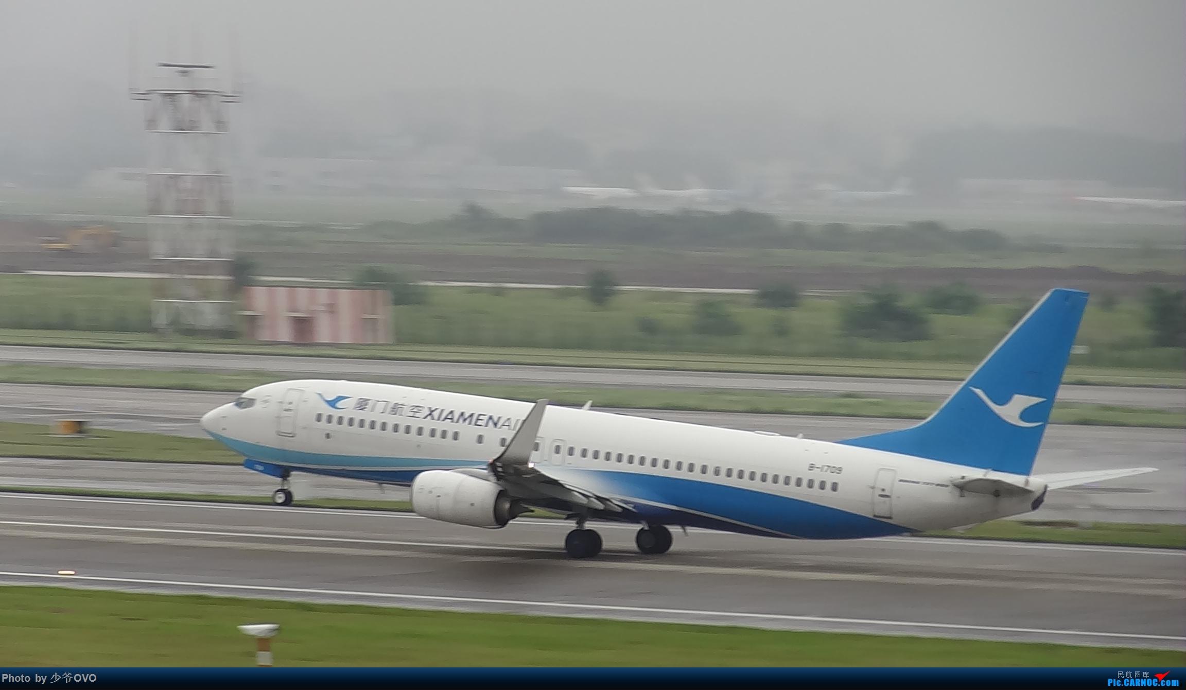 Re:[原创]CKG重庆江北机场拍机 ,中法建交50周年 BOEING 737-800 B-1709 中国重庆江北国际机场