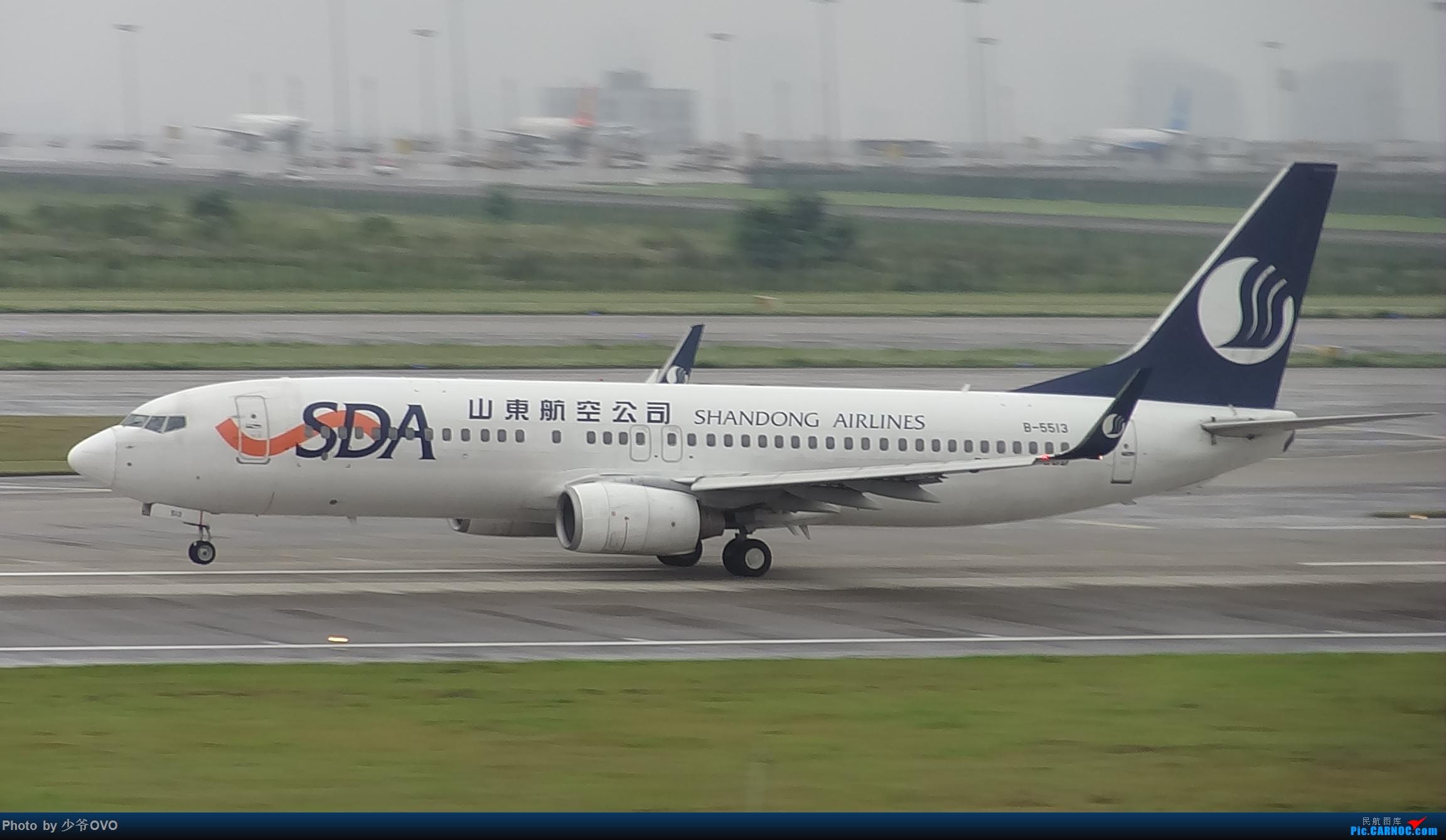 Re:[原创]CKG重庆江北机场拍机 ,中法建交50周年 BOEING 737-800 B-5513 中国重庆江北国际机场