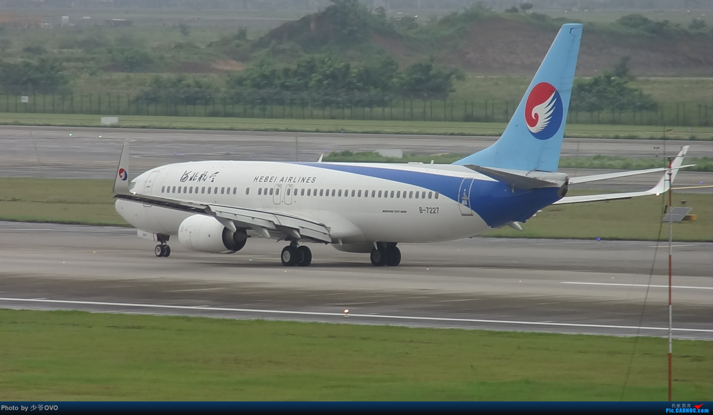 Re:[原创]CKG重庆江北机场拍机 ,中法建交50周年 BOEING 737-800 B-7227 中国重庆江北国际机场