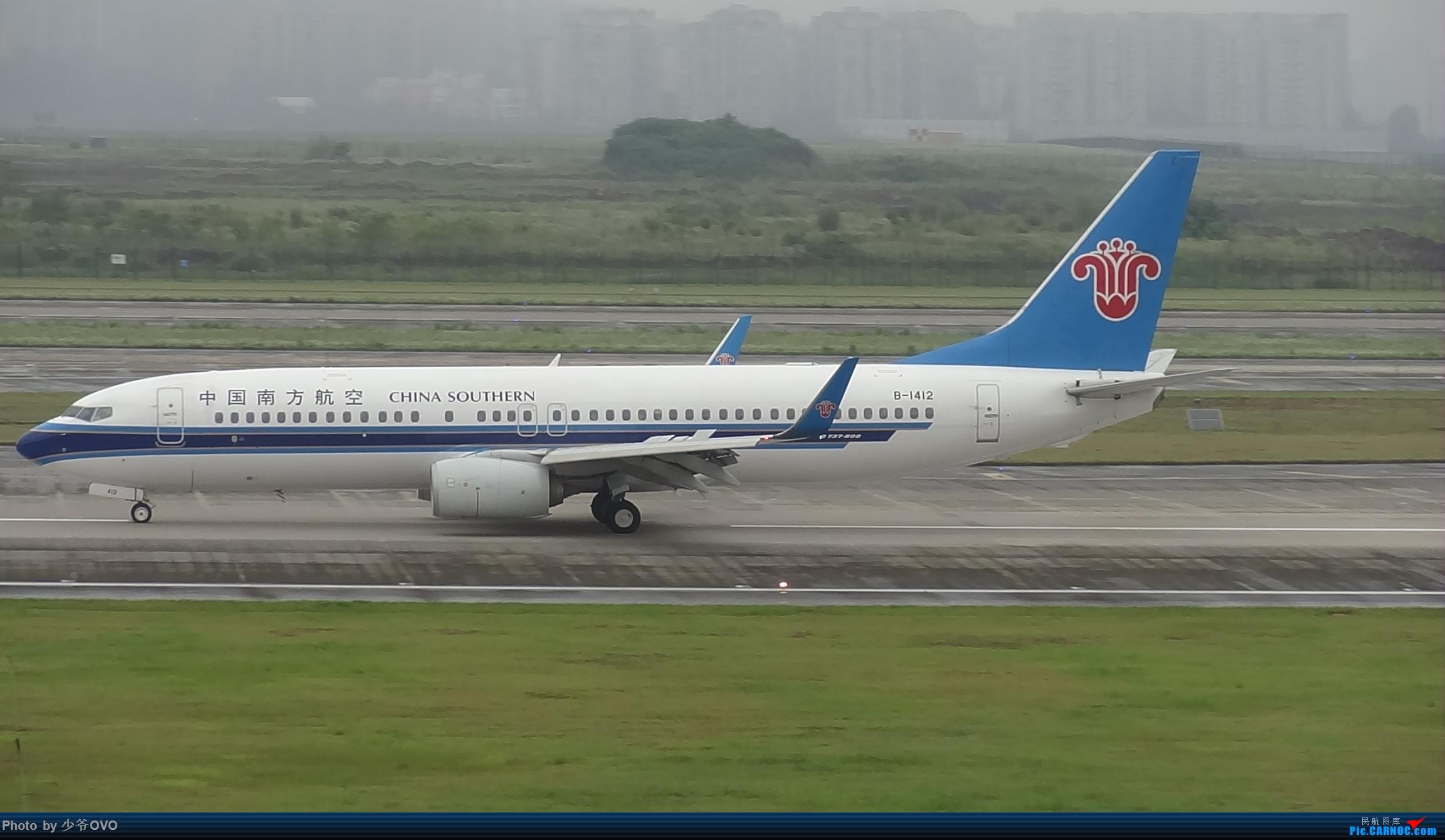 Re:[原创]CKG重庆江北机场拍机 ,中法建交50周年 BOEING 737-800 B-1412 中国重庆江北国际机场