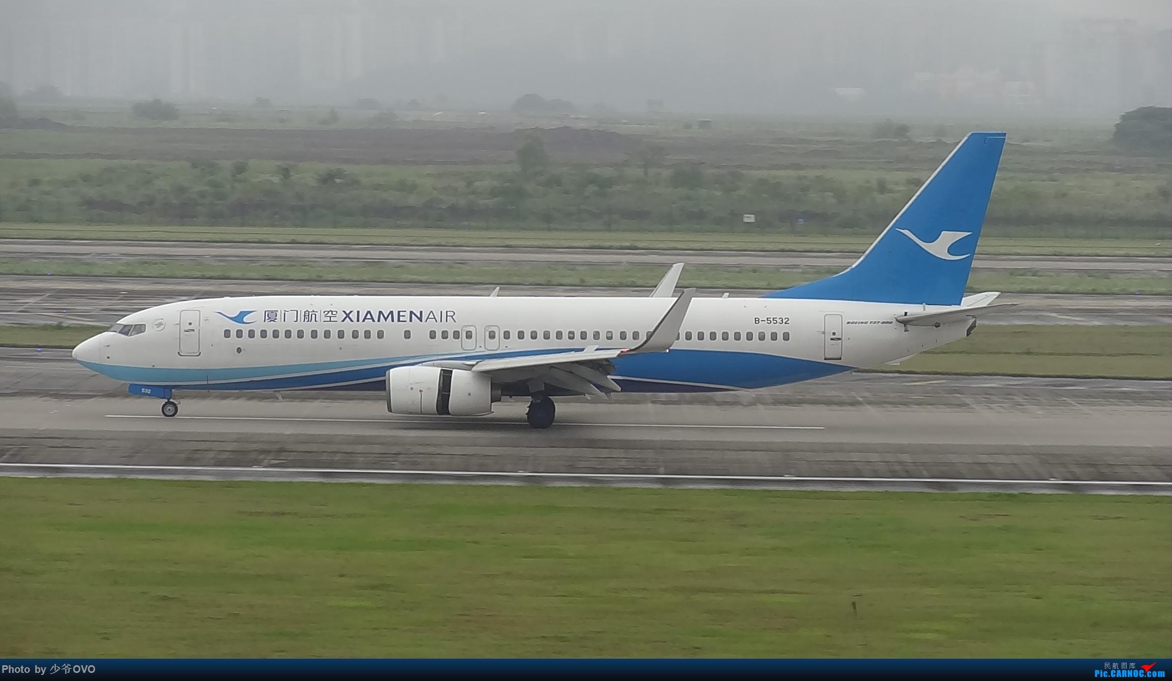 Re:[原创]CKG重庆江北机场拍机 ,中法建交50周年 BOEING 737-800 B-5532 中国重庆江北国际机场